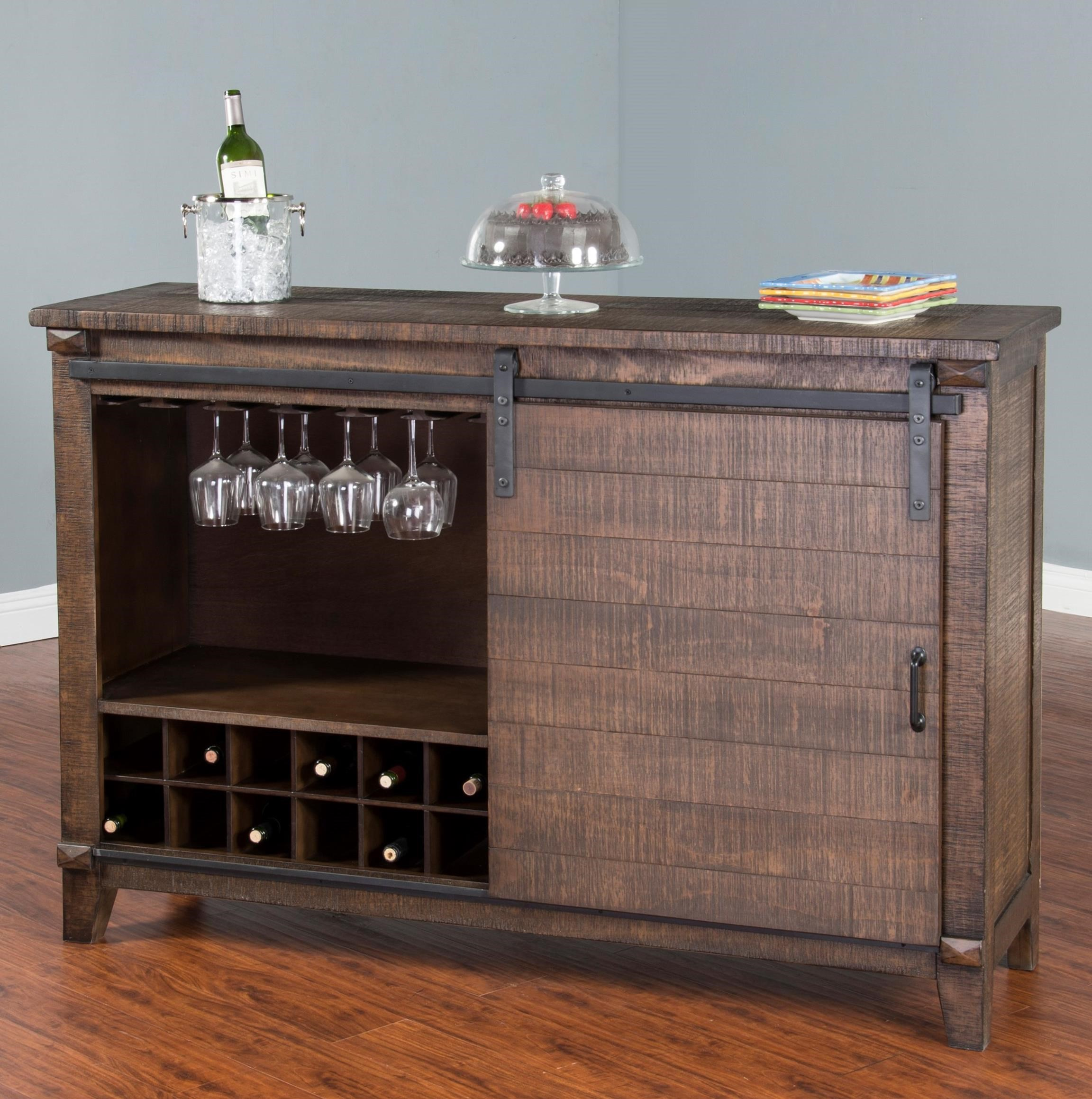 Sunny designs homestead 1936tl w server w wooden barn for Homestead furniture and appliances