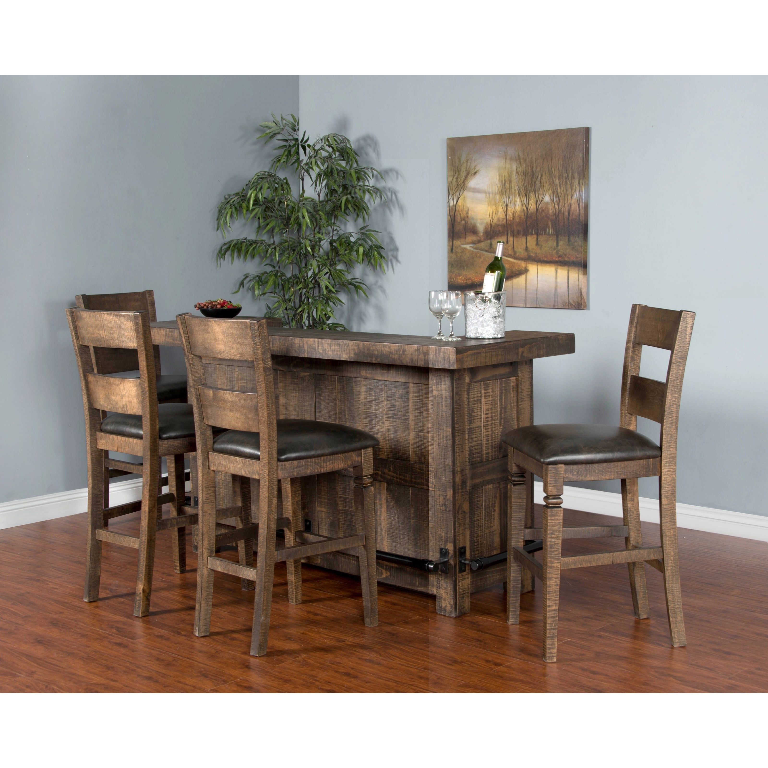 Sunny designs homestead 1963tl rustic bar furniture and for Homestead furniture and appliances
