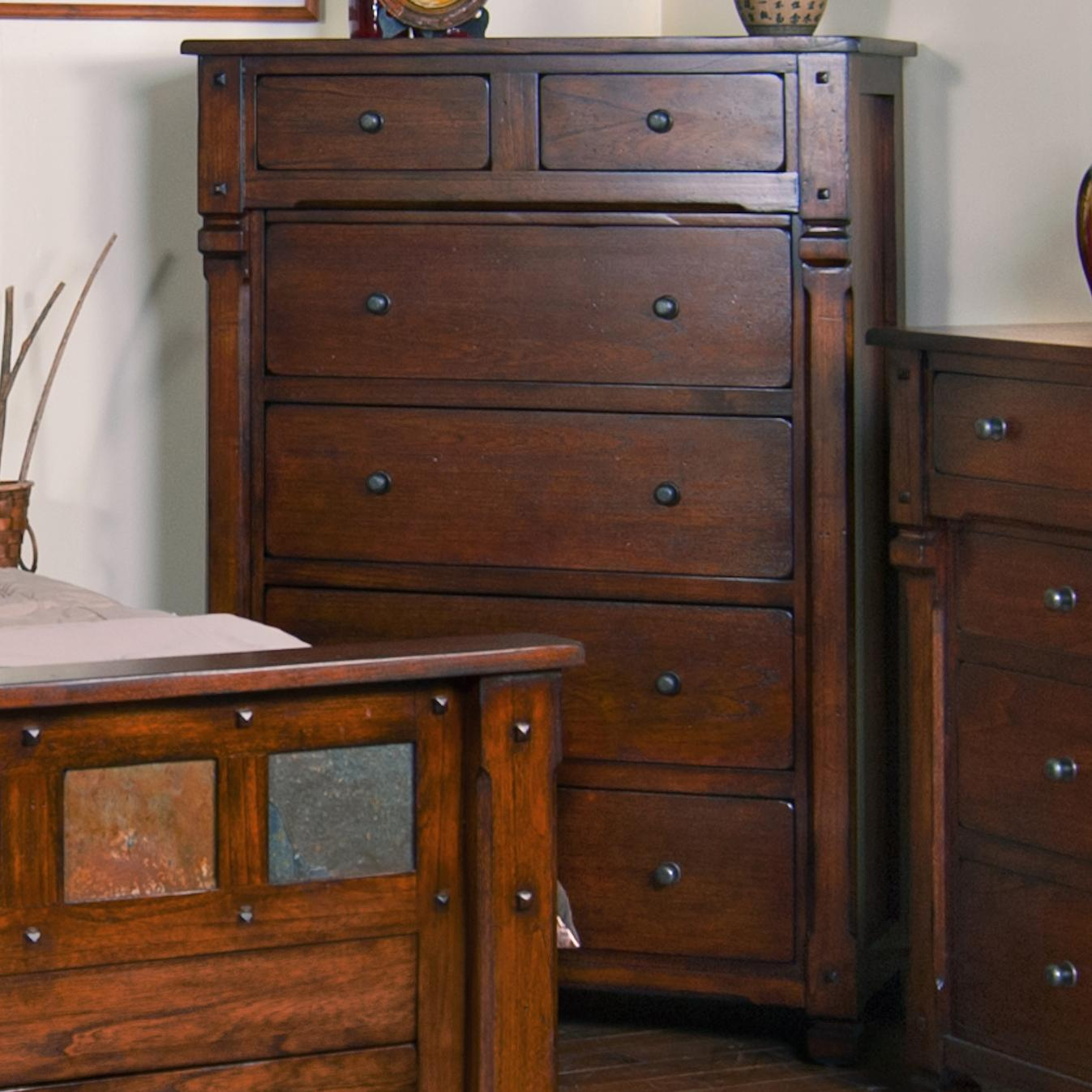 Storage Bedroom Set Sedona By Sunny Designs Su 2322ro S Set ...