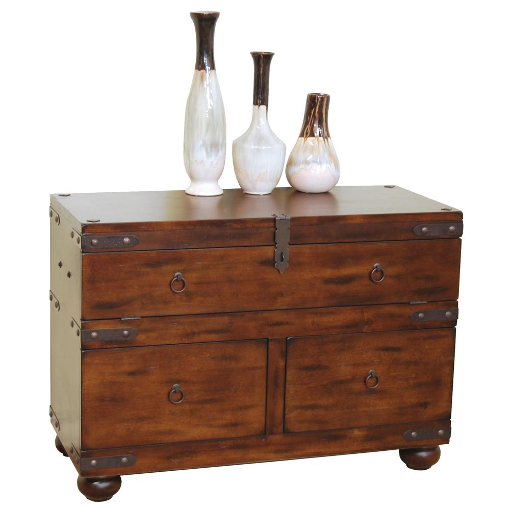 Sunny designs santa fe 3166dc s traditional 3 drawer sofa for Sofa table vs console table