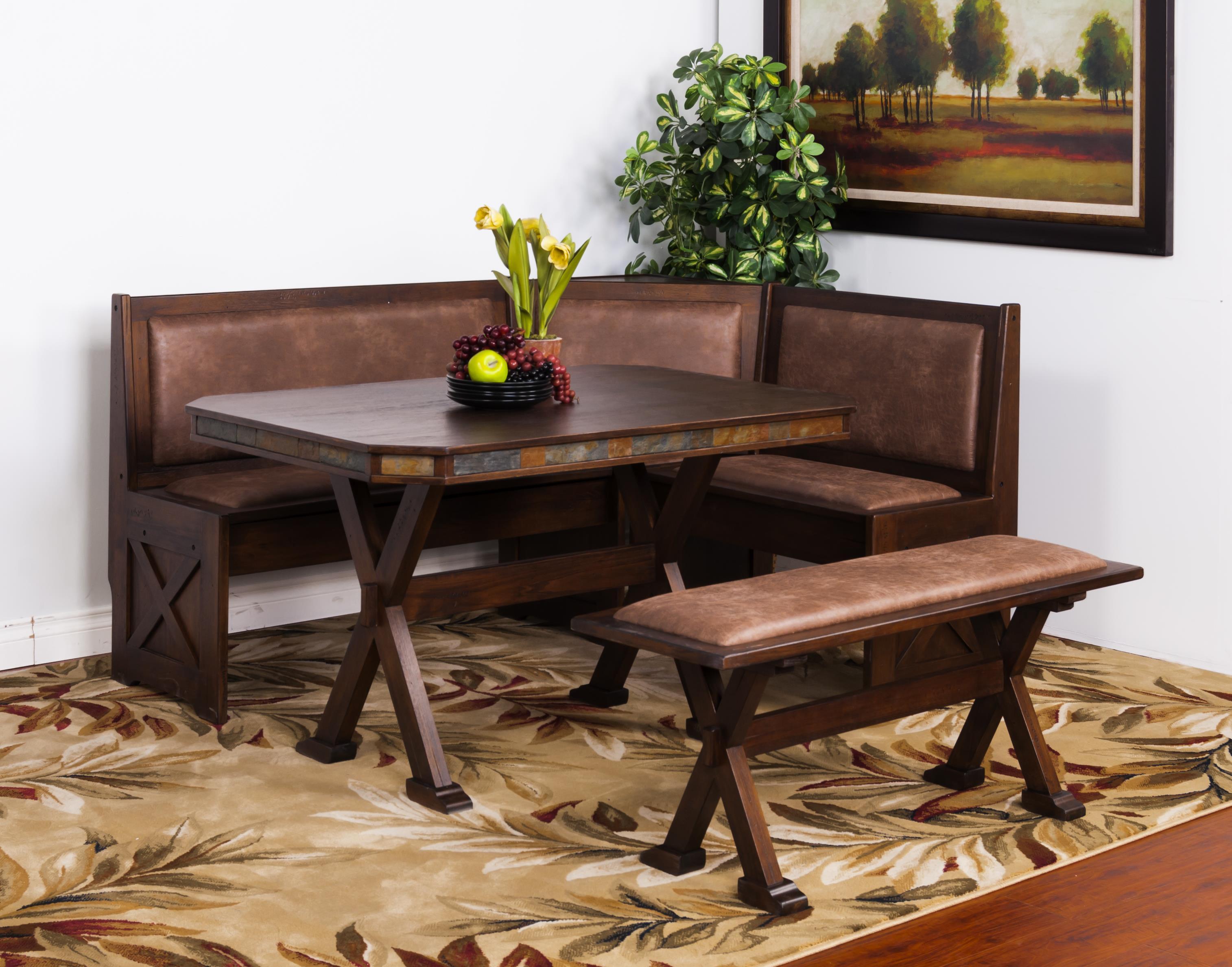 Savannah Table w X Base by Sunny Designs