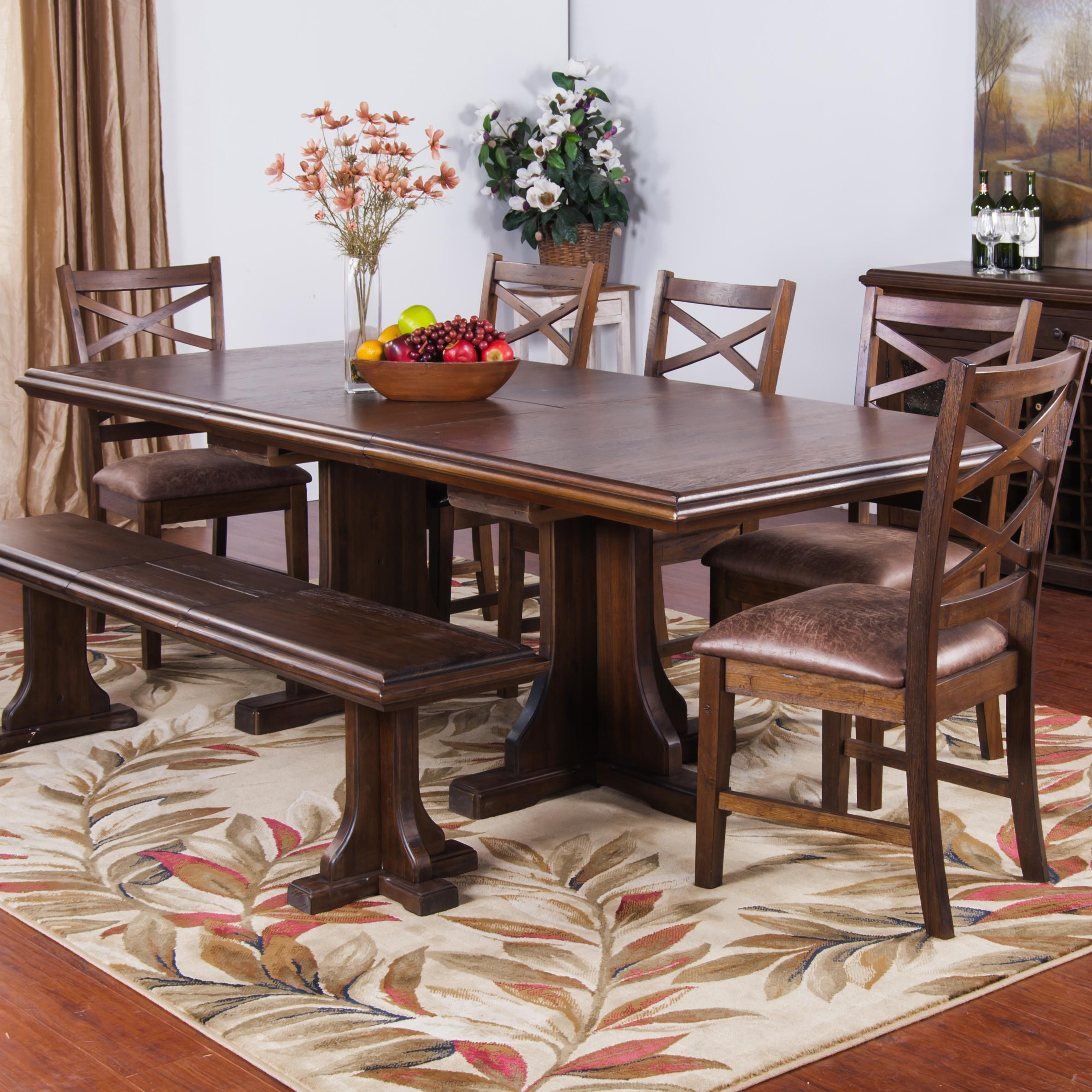 Sunny Designs Savannah Extension Dining Table Counter