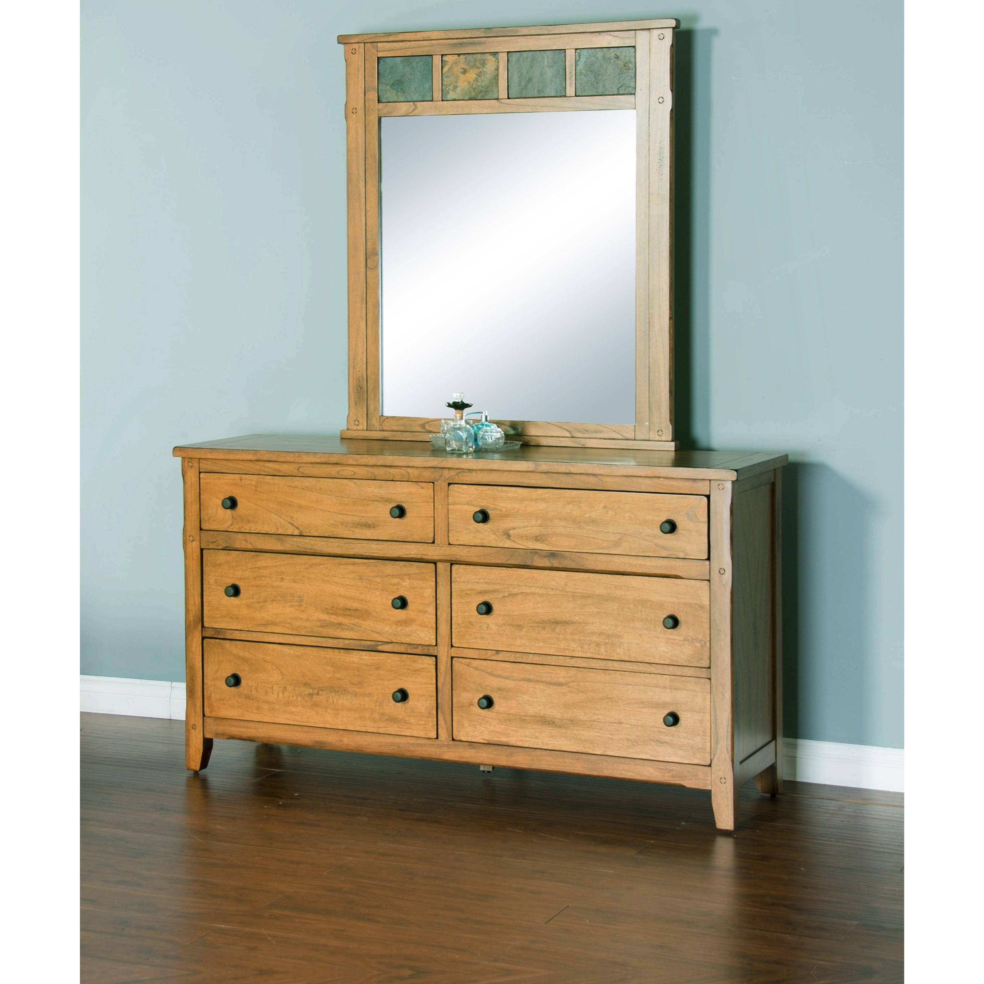 Sunny Designs Sedona Mirror Conlin 39 S Furniture Dresser