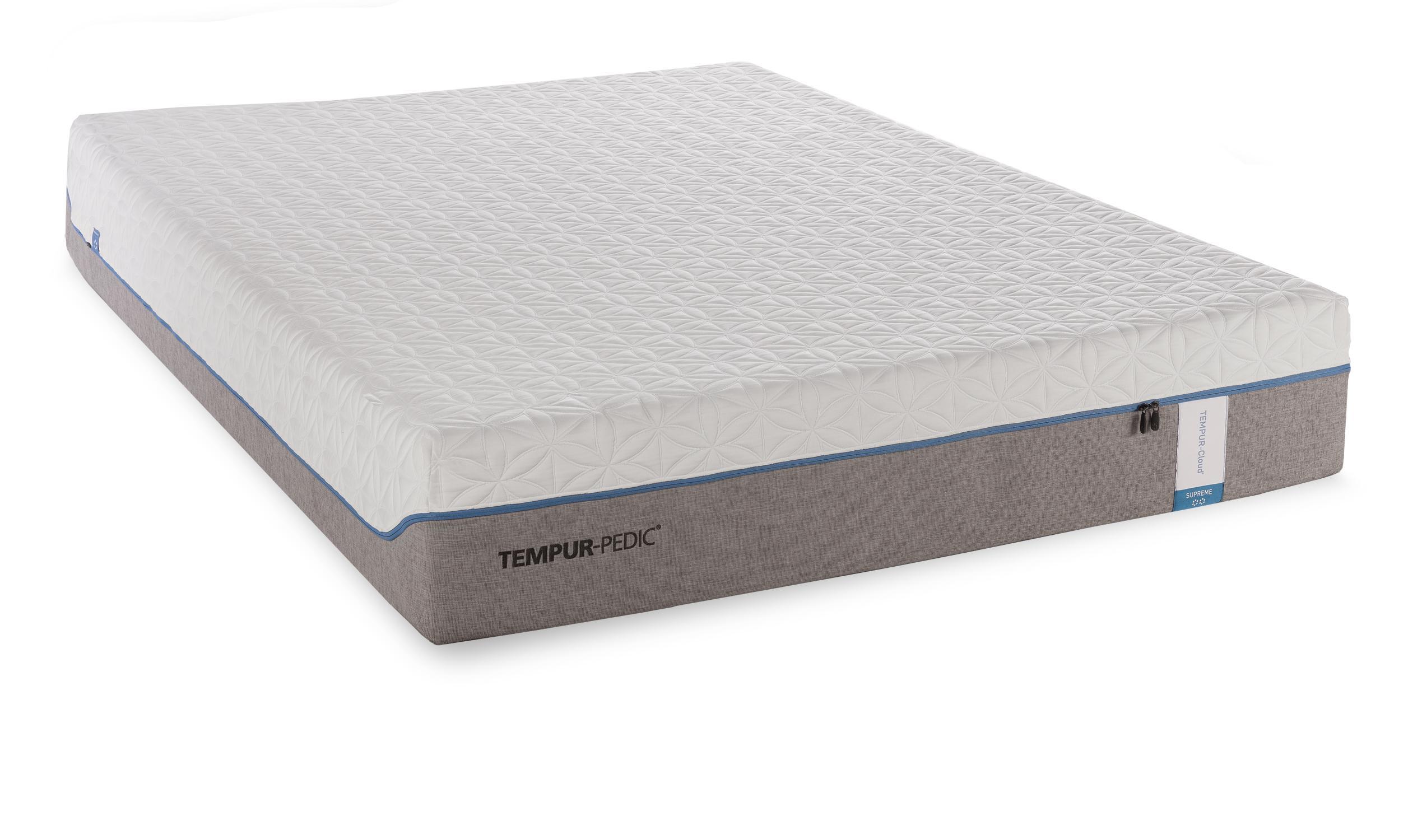 Tempur pedic tempur cloud supreme twin extra long soft for How long does a spring mattress last