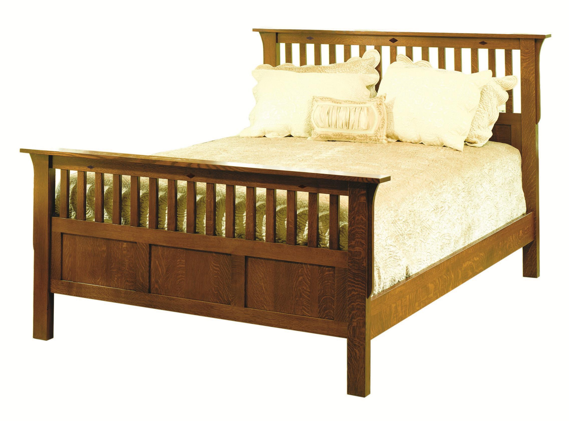 Yutzy urban collection prairie home 58131 mission queen for Urban home beds