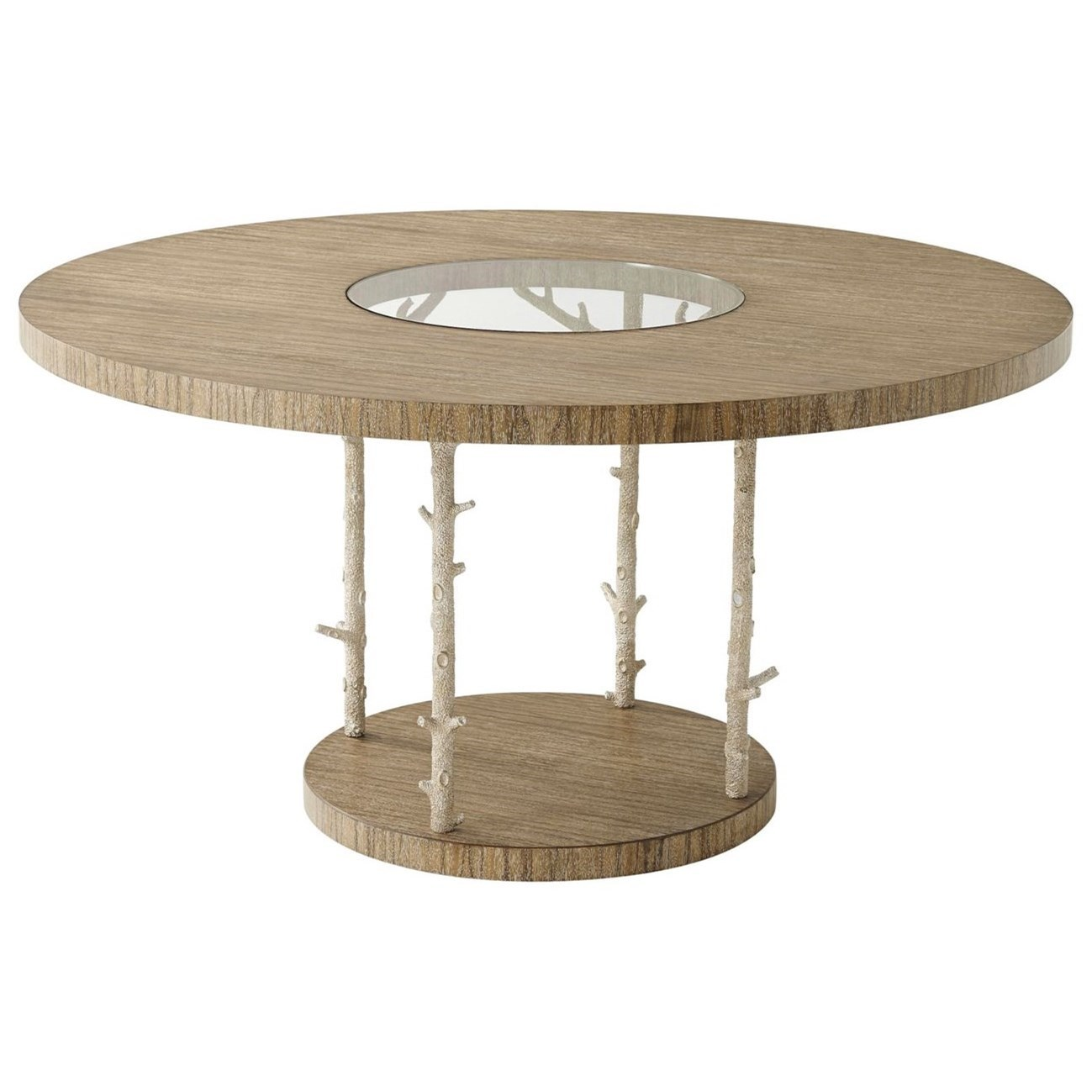 Theodore alexander corallo 5405 321chc wynwood ii round for Looking for dining table