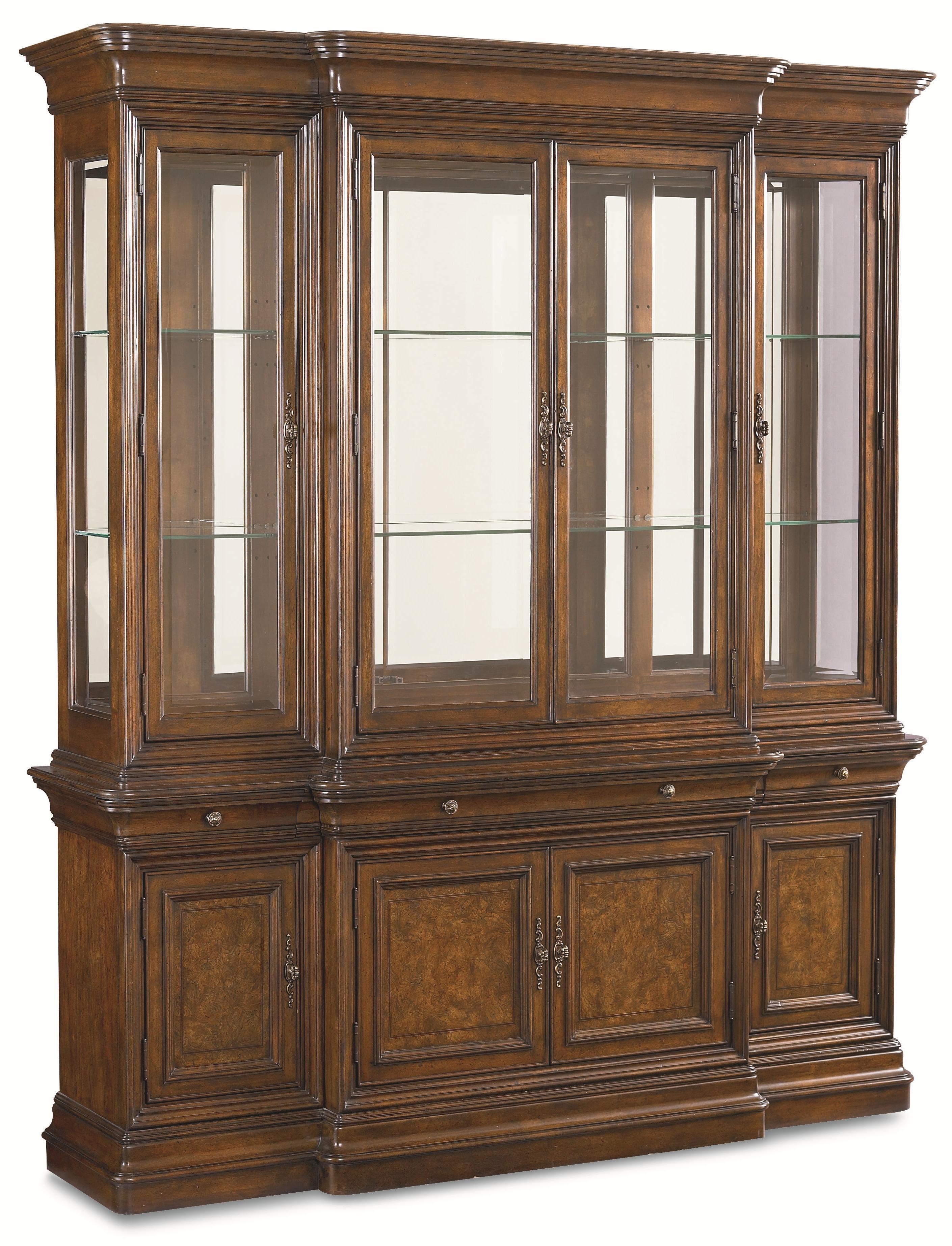 Thomasville deschanel 46721 435 china cabinet w 3 for Thomasville lights