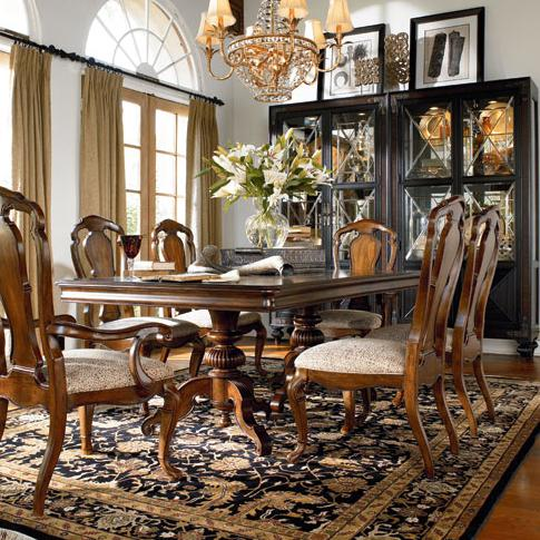 Thomasville ernest hemingway 7 piece table and side chair Ernest hemingway inspired decor