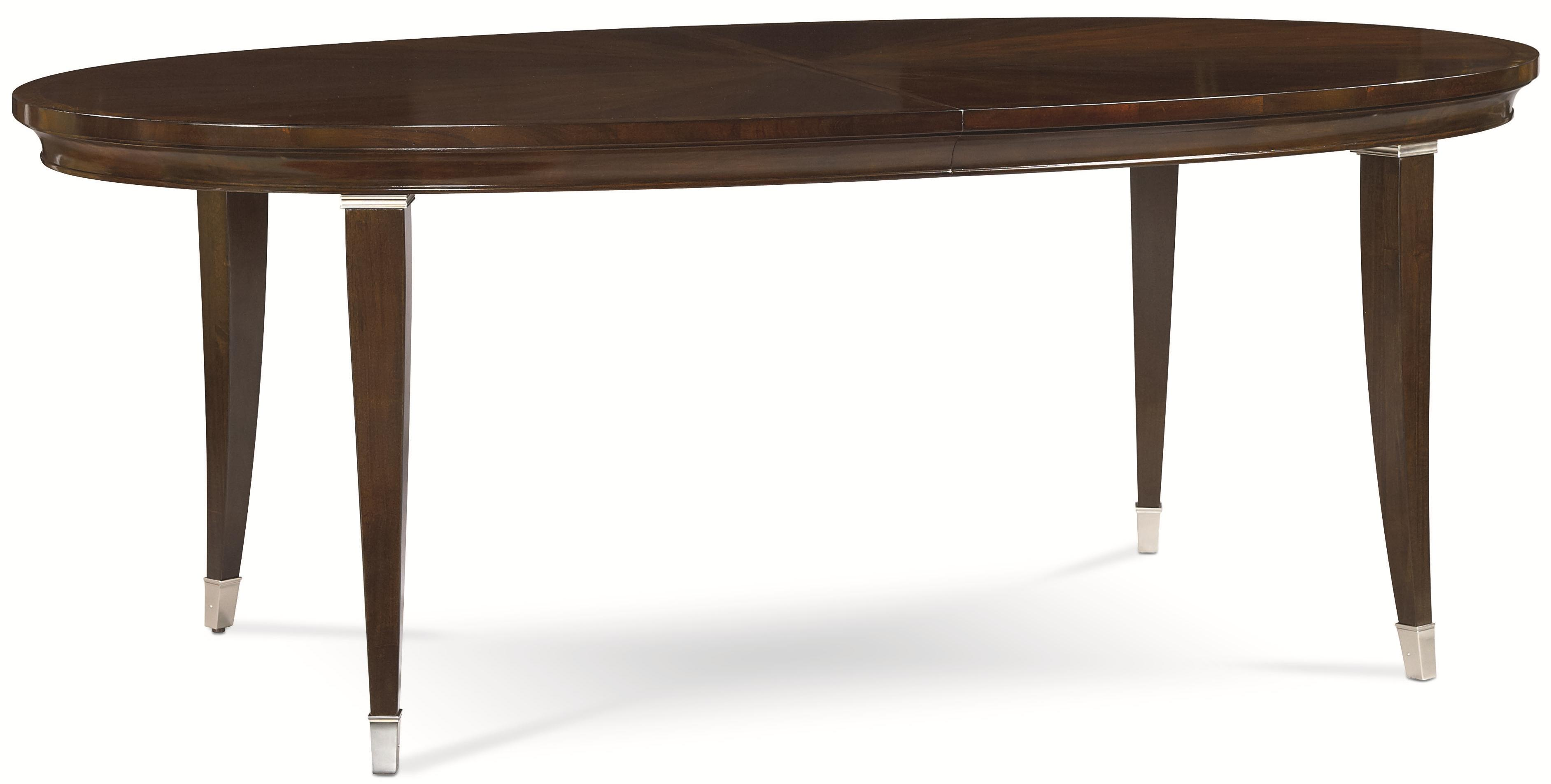 Thomasville spellbound 82221 751 oval dining table w for Dining room tables thomasville