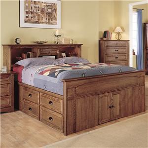thornwood syrah queen captain 39 s bed bigfurniturewebsite