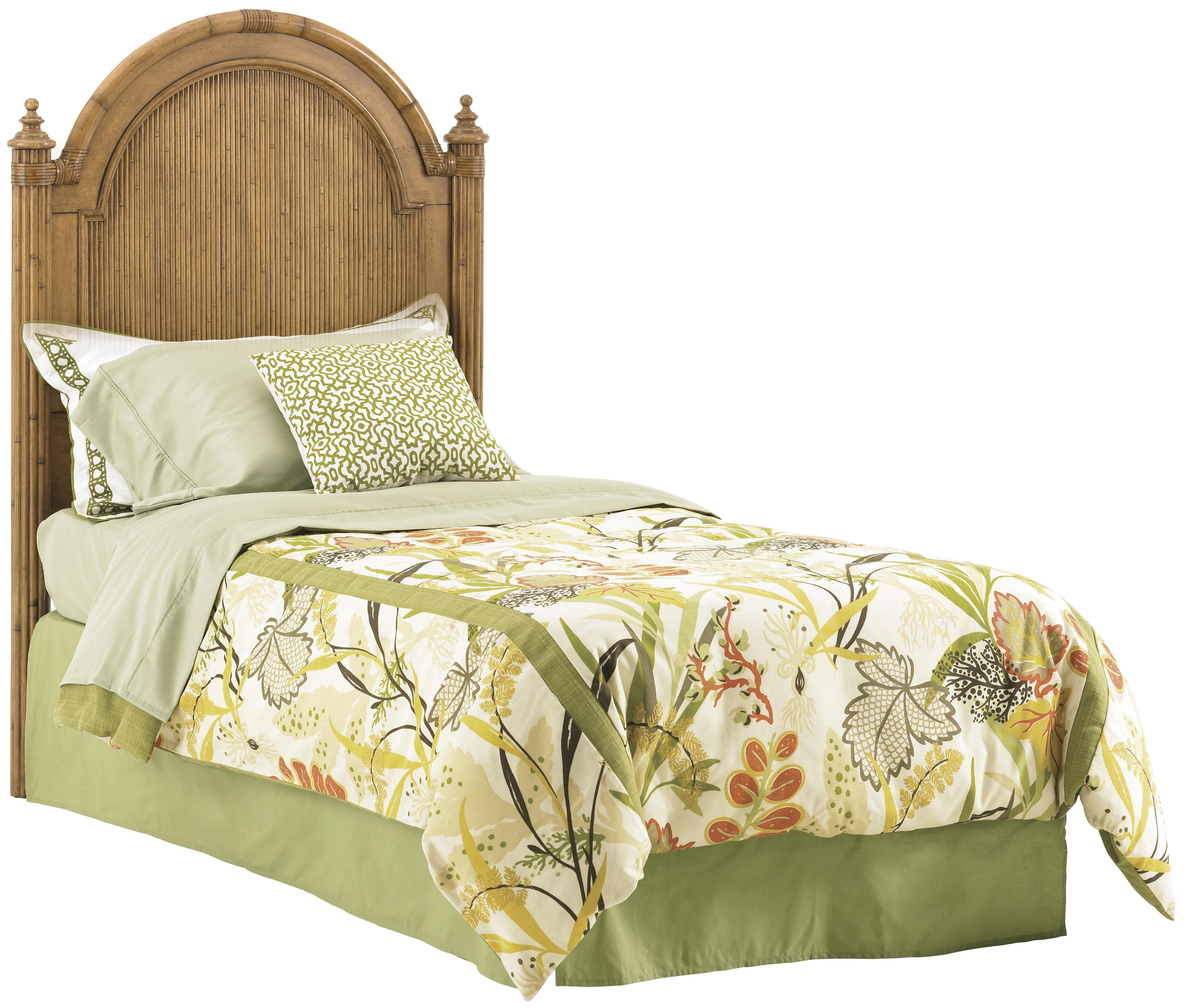 Tommy Bahama Home Beach House 540 133hb Queen Size Belle Isle Headboard With Bamboo Accents