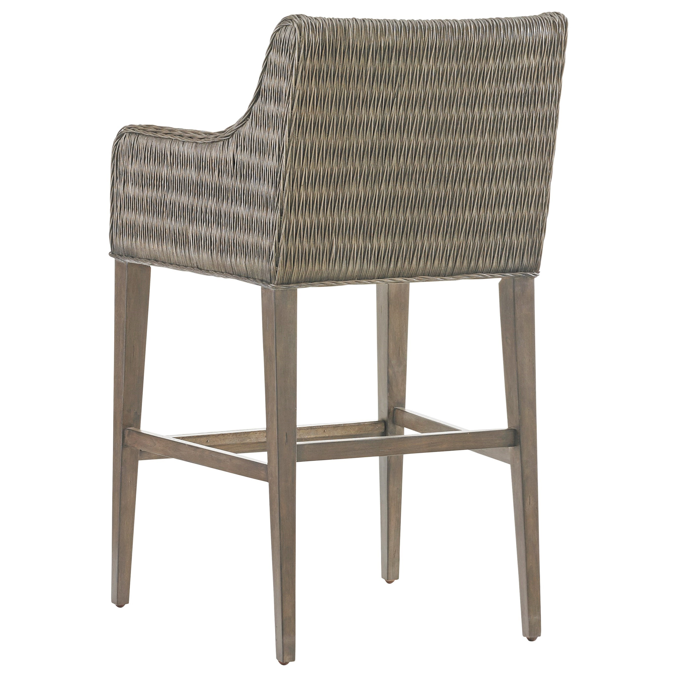 Tommy Bahama Home Cypress Point Turner Woven Rattan Bar