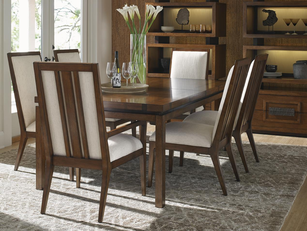 Tommy bahama home island fusion 556 877 marquesa for Rectangular dining room tables with leaves