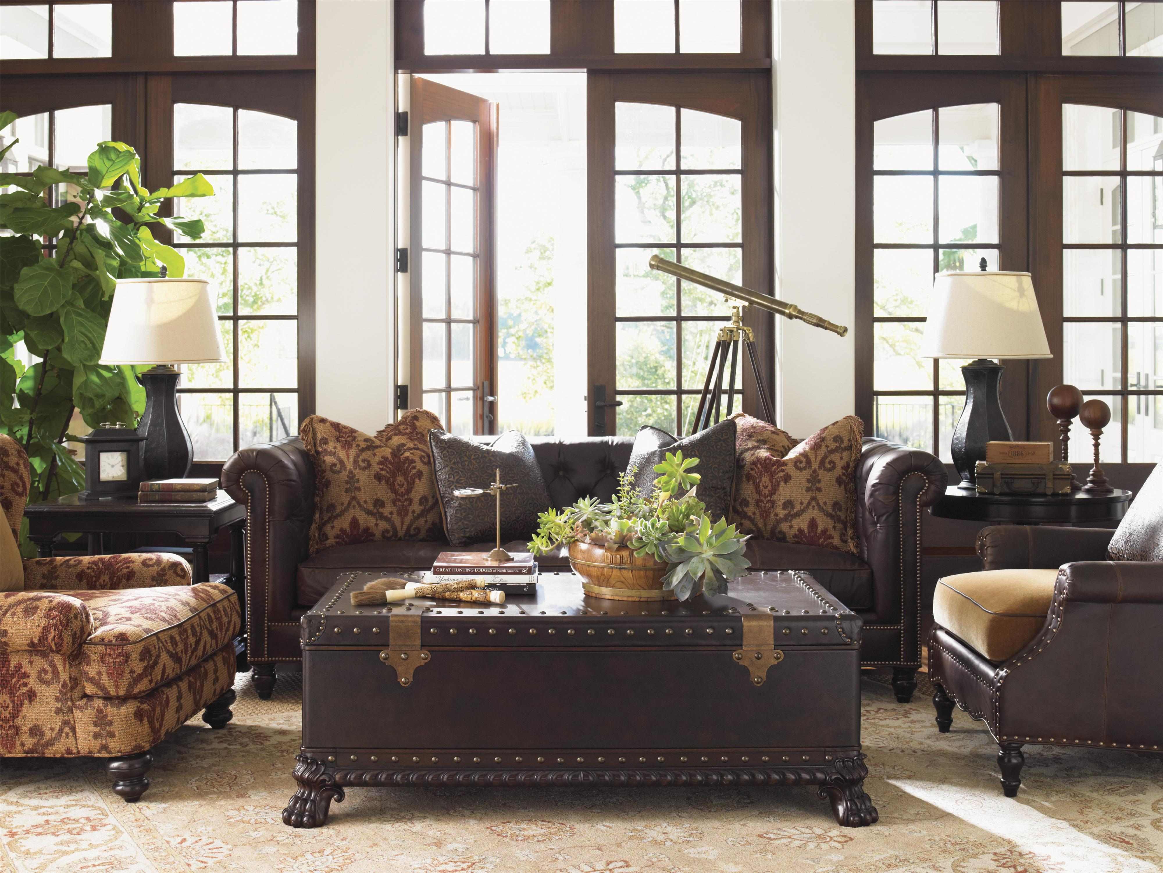 Tommy bahama home island traditions ll7884 11aa belgrave for Island living room furniture