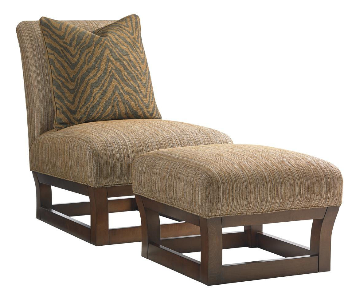 Tommy Bahama Home Ocean Club Contemporary Exposed Wood