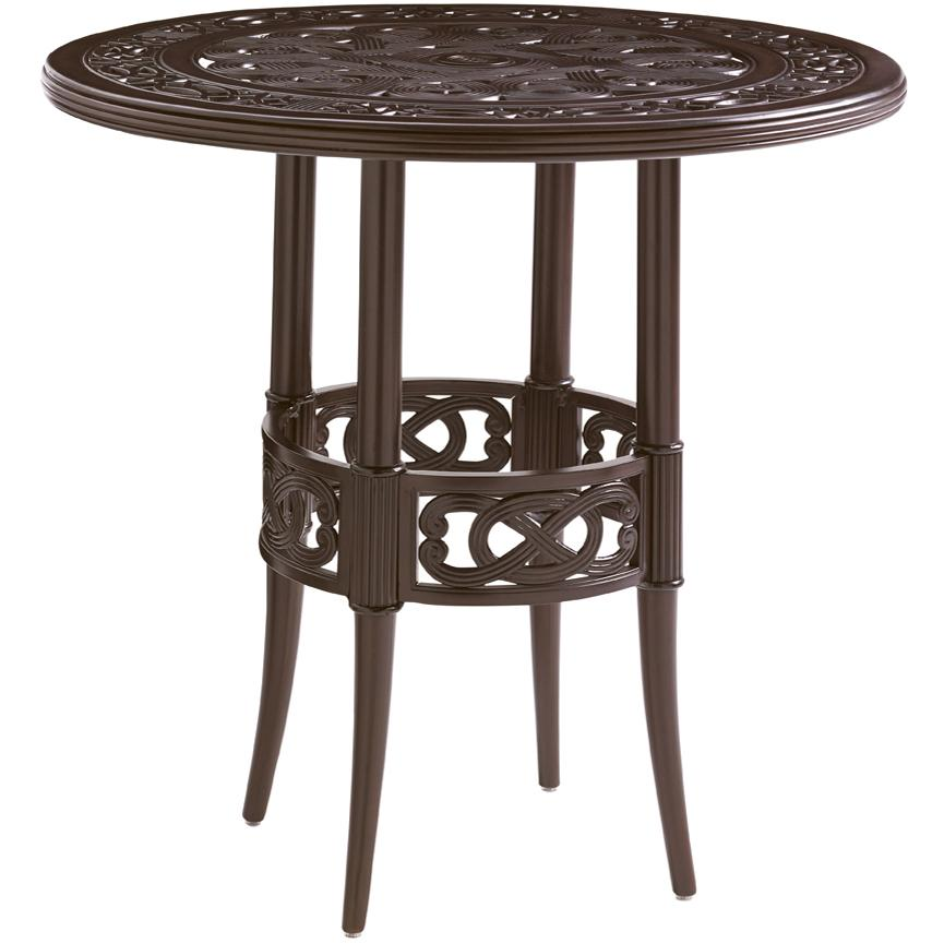 tommy bahama outdoor living black sands outdoor high low bistro bar table with elegant design. Black Bedroom Furniture Sets. Home Design Ideas