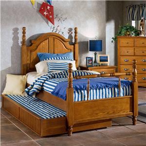 Trademaster Cherokee Twin Poster Bed Bigfurniturewebsite Poster Bed