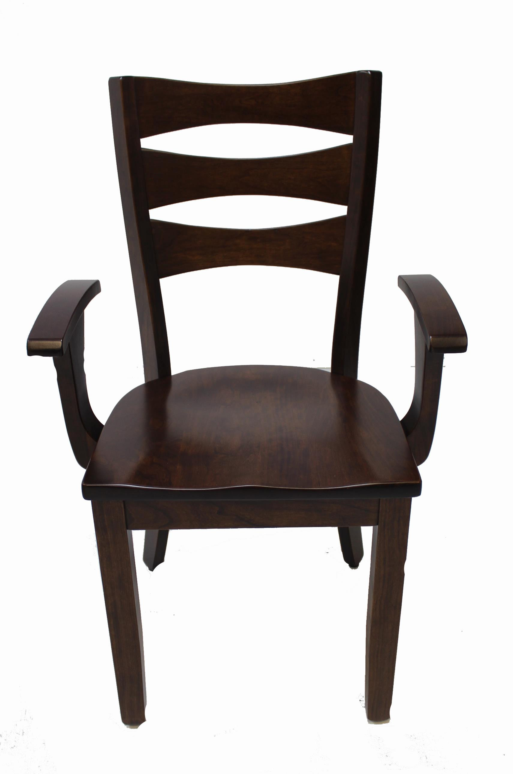 Home Dining Room Furniture Dining Arm Chair Trailway Wood Alt3648 Arm