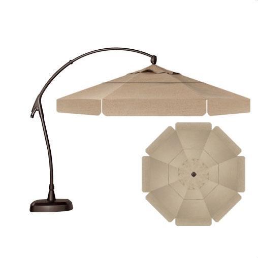 Treasure Garden Cantilever Umbrellas 11 39 Cantilever Octagonal Umbrella With Double Wind Vent