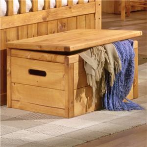 Trendwood Bunkhouse Twin Full High Sierra Bunk Bed