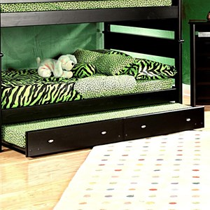 Trendwood Laguna Full Full Bunk Bed W Trundle Conlin S