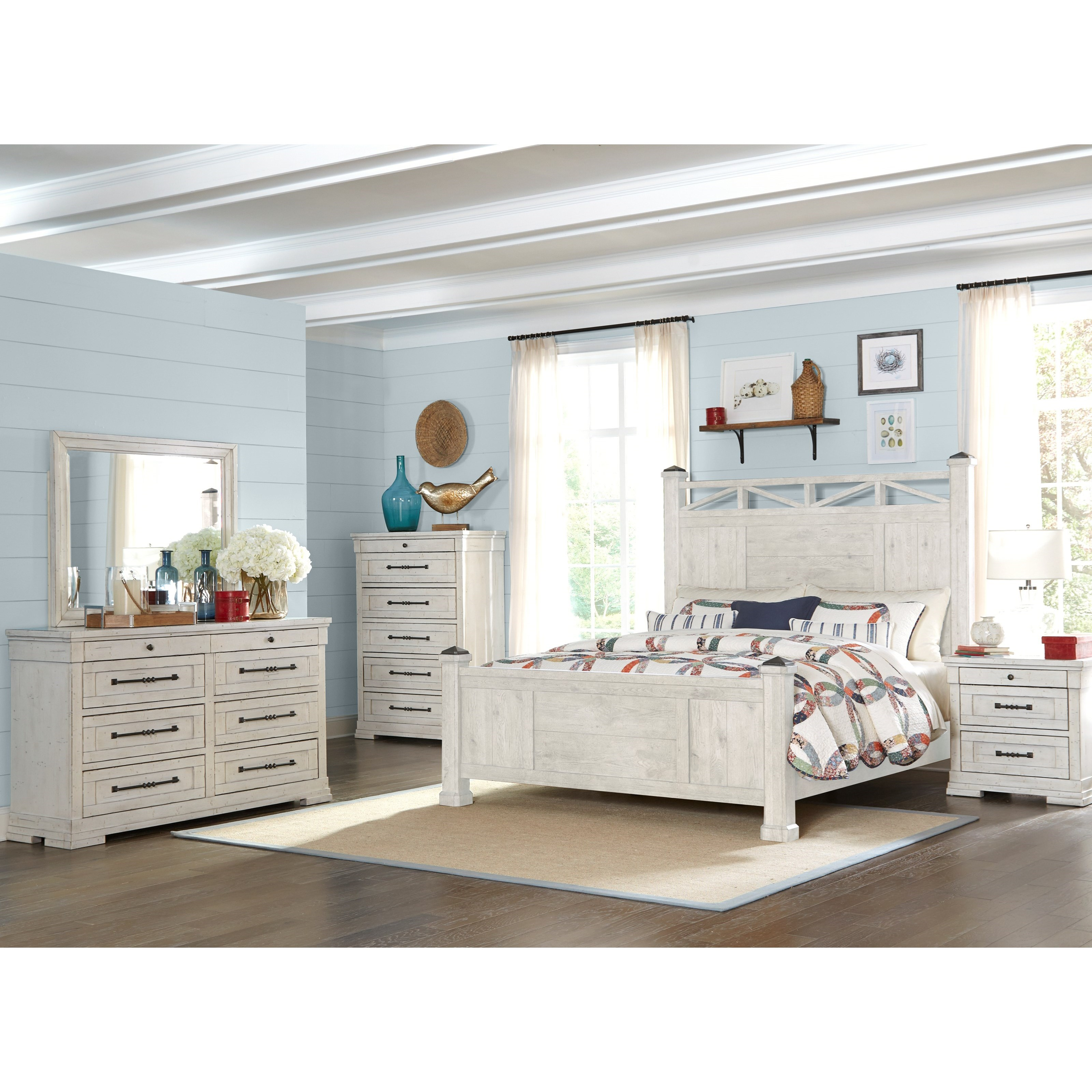 Trisha Yearwood Home Collection By Klaussner Coming Home 926 660 Mirr Refresh Rectangular Mirror