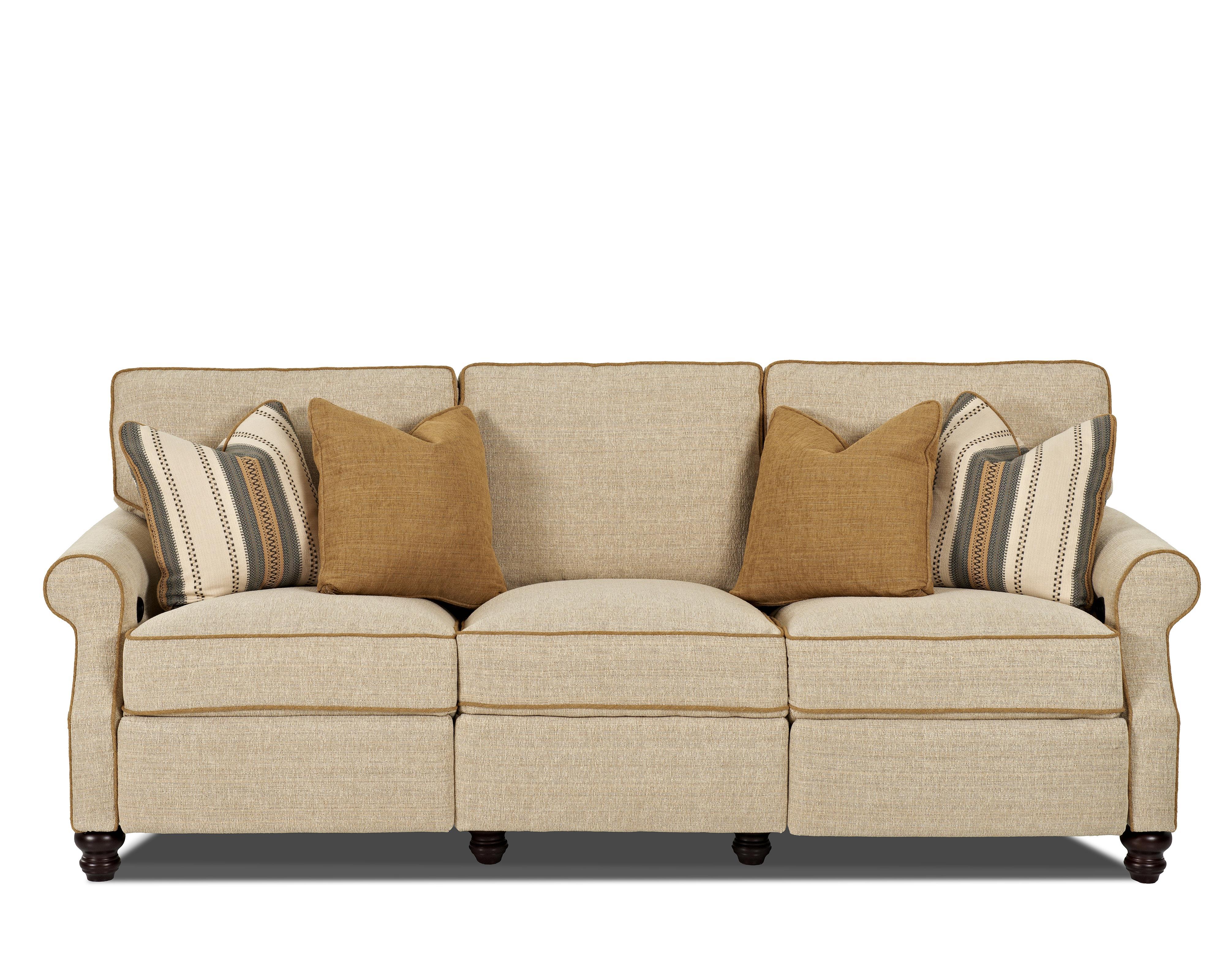Trisha Yearwood Home Tifton Traditional Power Hybrid Sofa