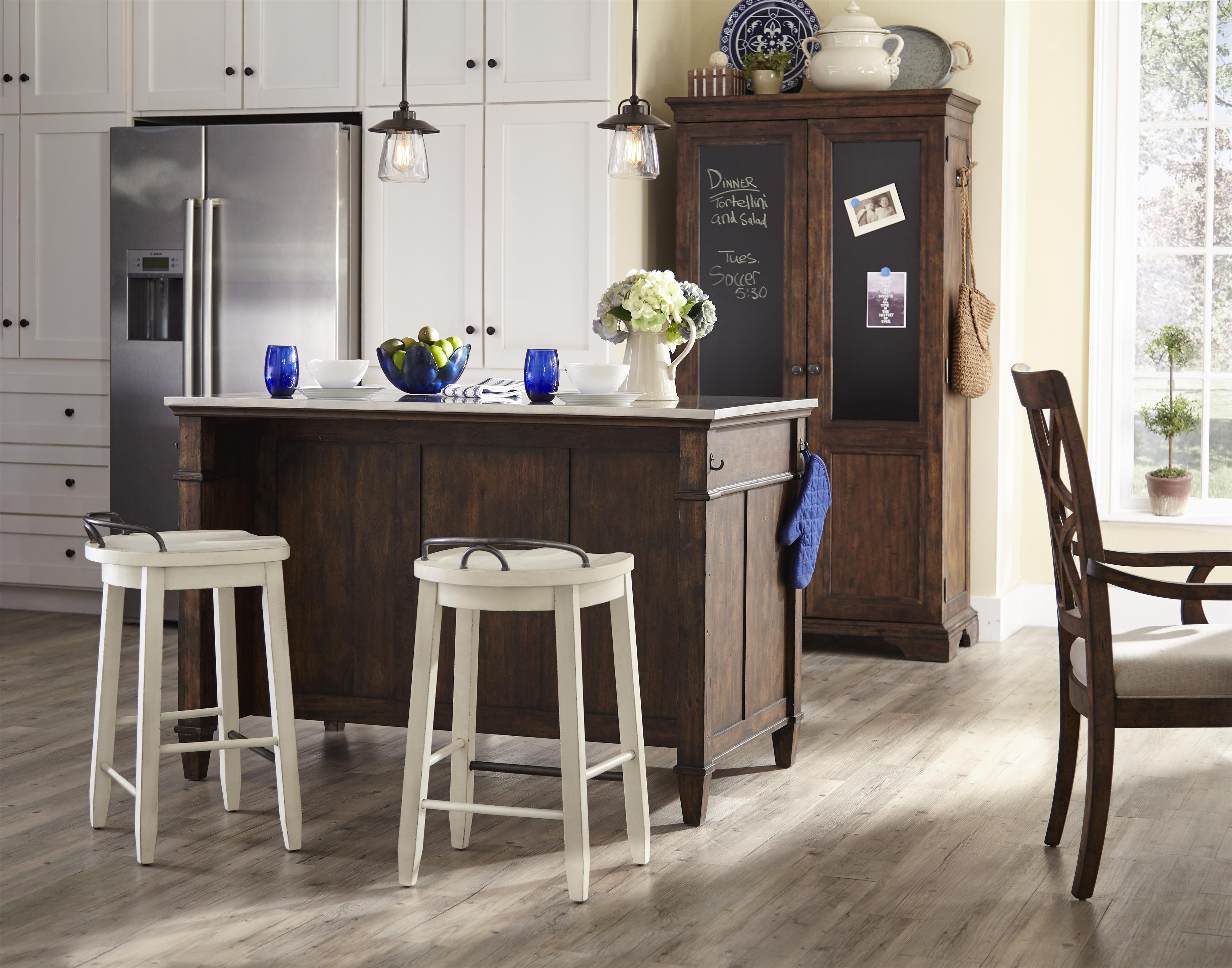 Trisha Yearwood Home Trisha Yearwood Home Kitchen Island With Towel Hooks Belfort Furniture