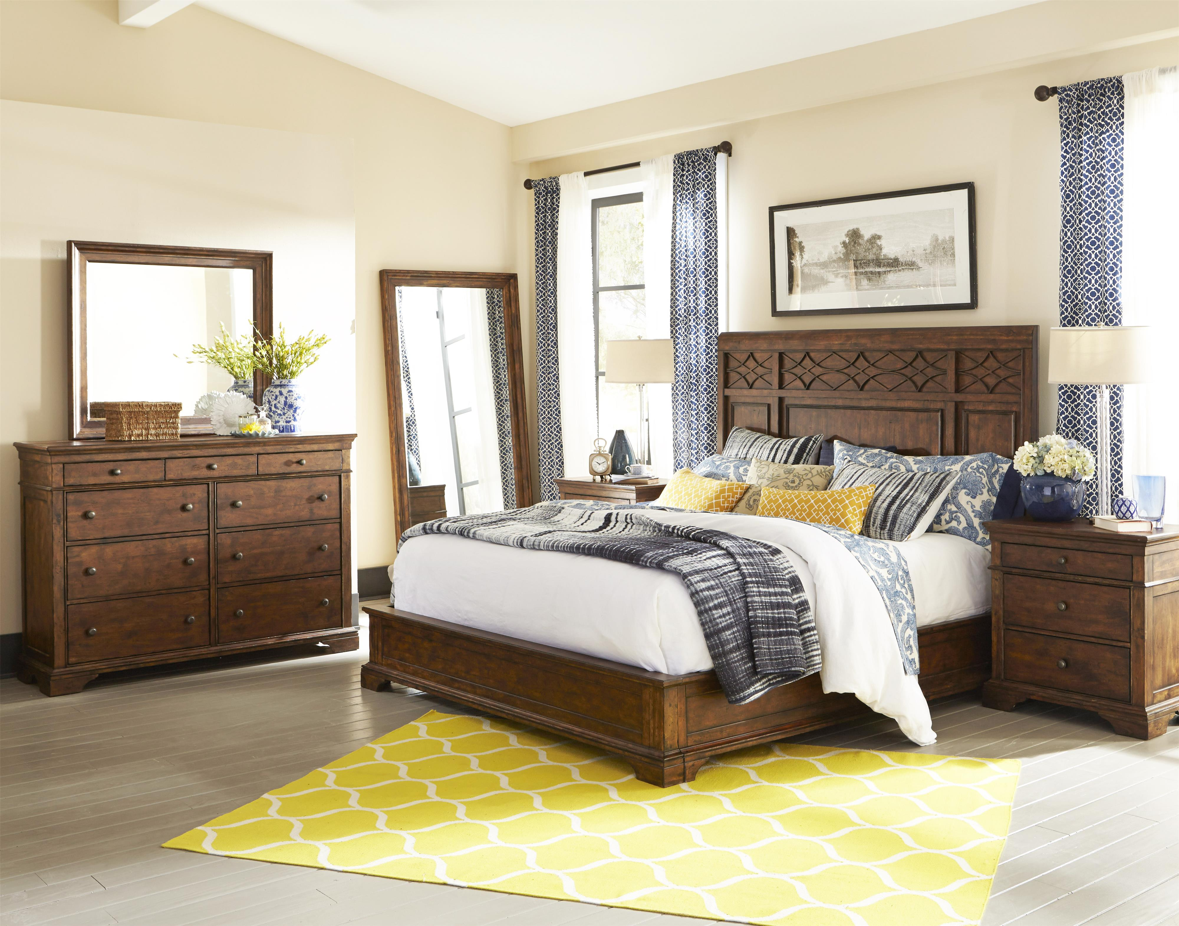 trisha yearwood home collection by klaussner trisha yearwood home 4 piece queen bedroom group