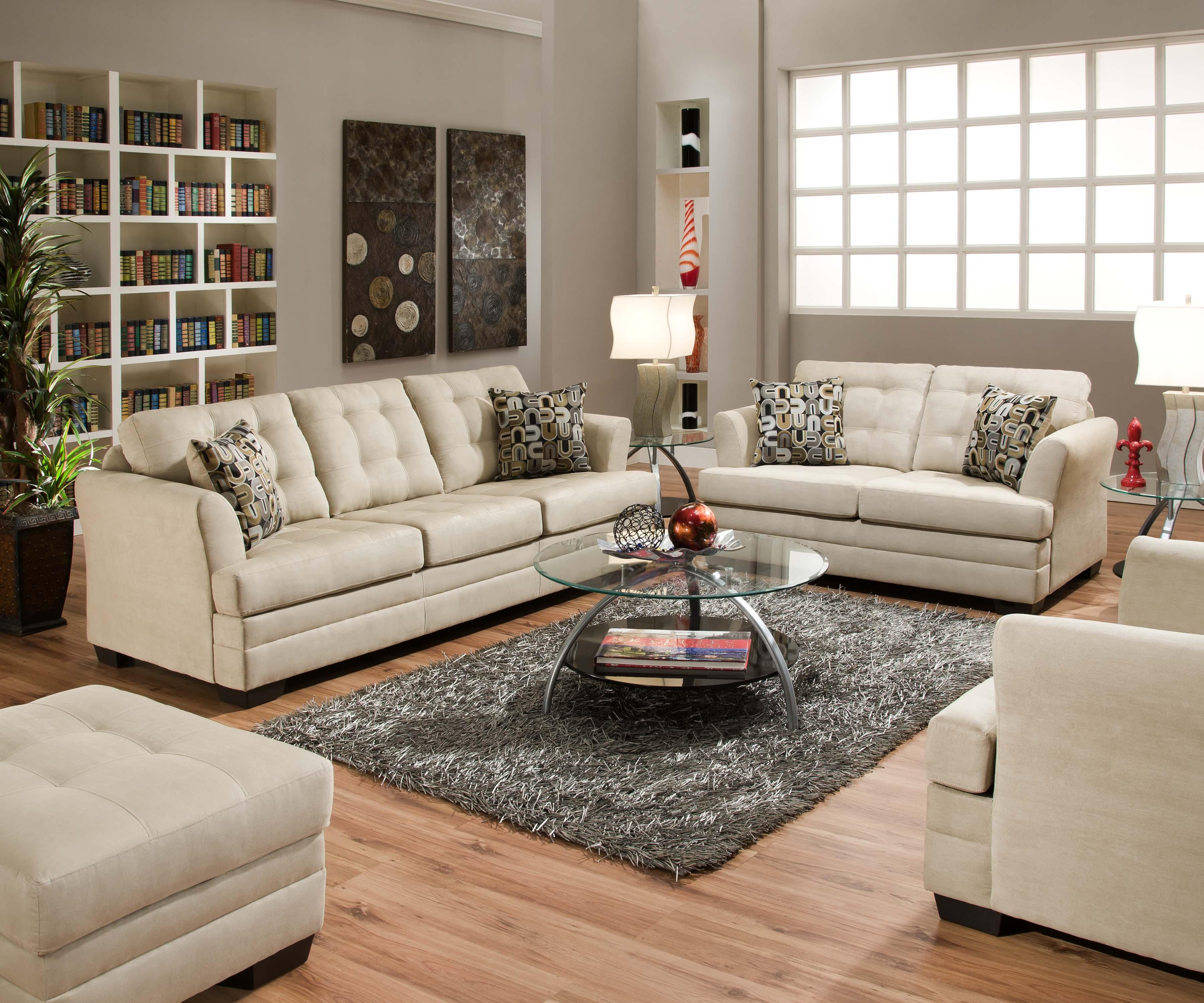 Simmons upholstery 2057 2057twinsleeper contemporary twin - Cojines decorativos para sofas ...