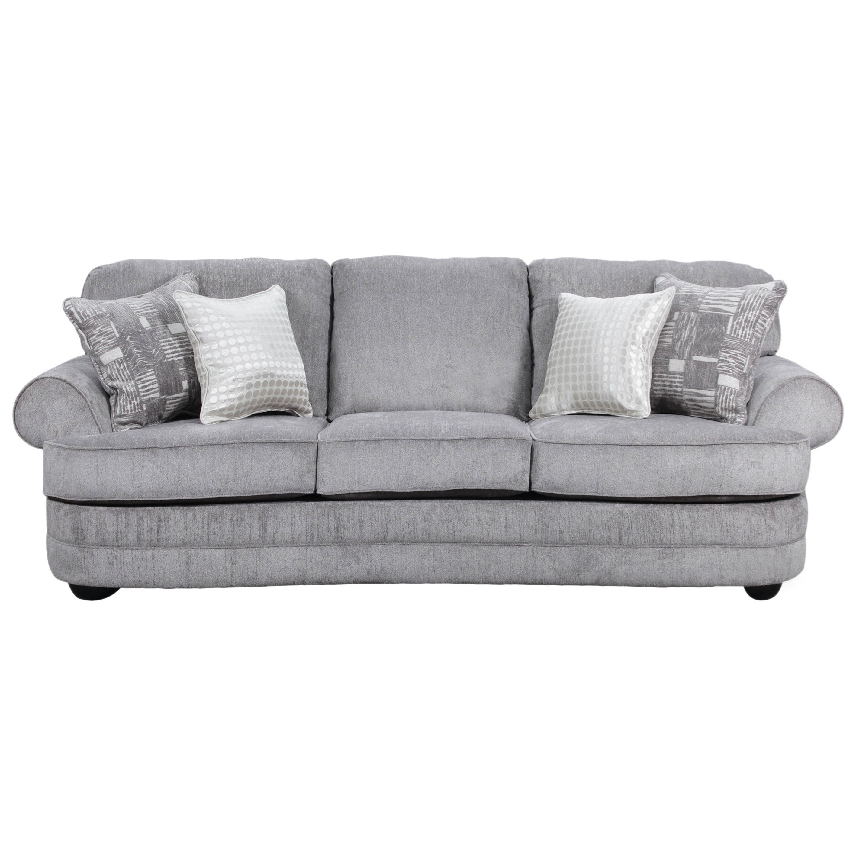 Sectional Sofas Birmingham Al: Simmons Upholstery 9255BR Transitional Sofa