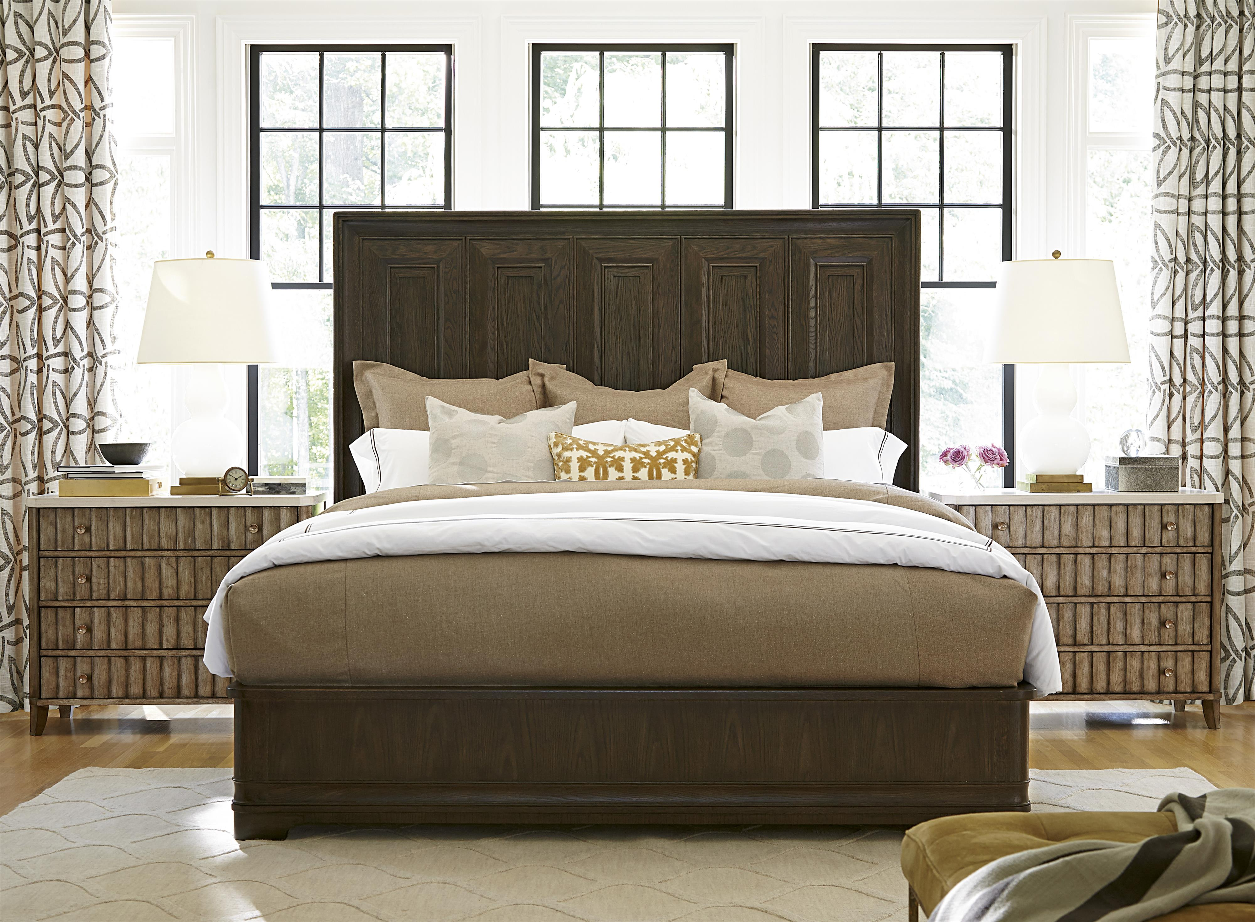 universal california hollywood hills accent chest with stone top belfort furniture night. Black Bedroom Furniture Sets. Home Design Ideas