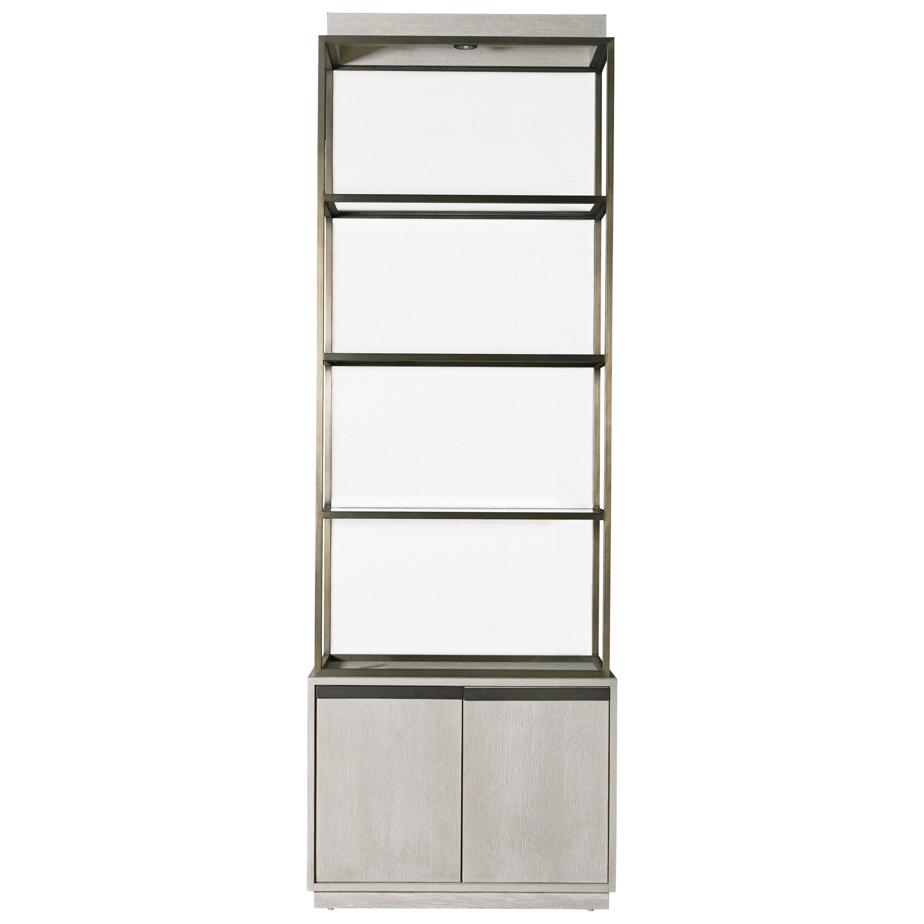 universal modern bronze garland etagere reeds furniture. Black Bedroom Furniture Sets. Home Design Ideas