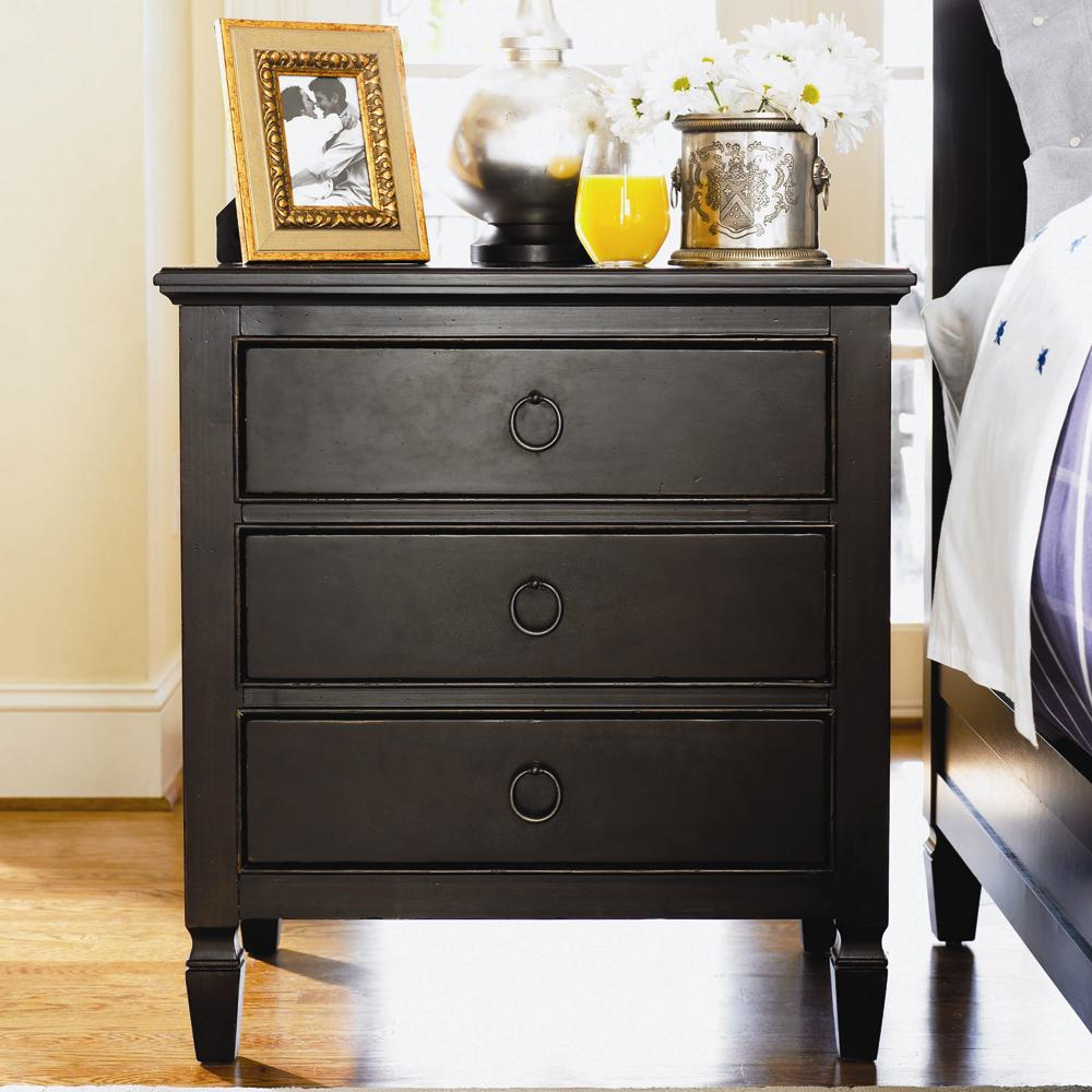Universal Summer Hill 3 Drawer Night Stand Belfort Furniture Night Stands