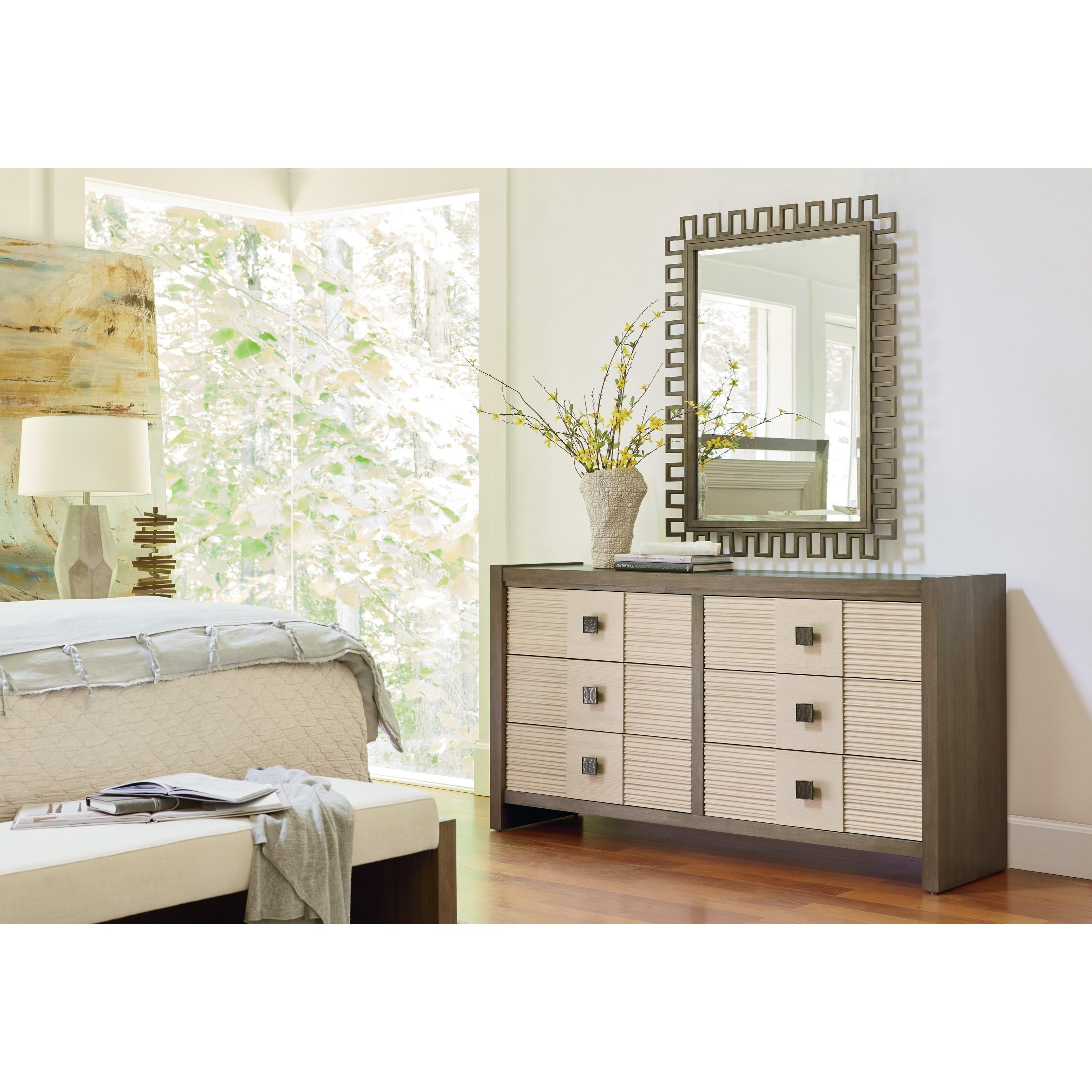 Universal Synchronicity 628040 Mid Century Modern Dresser