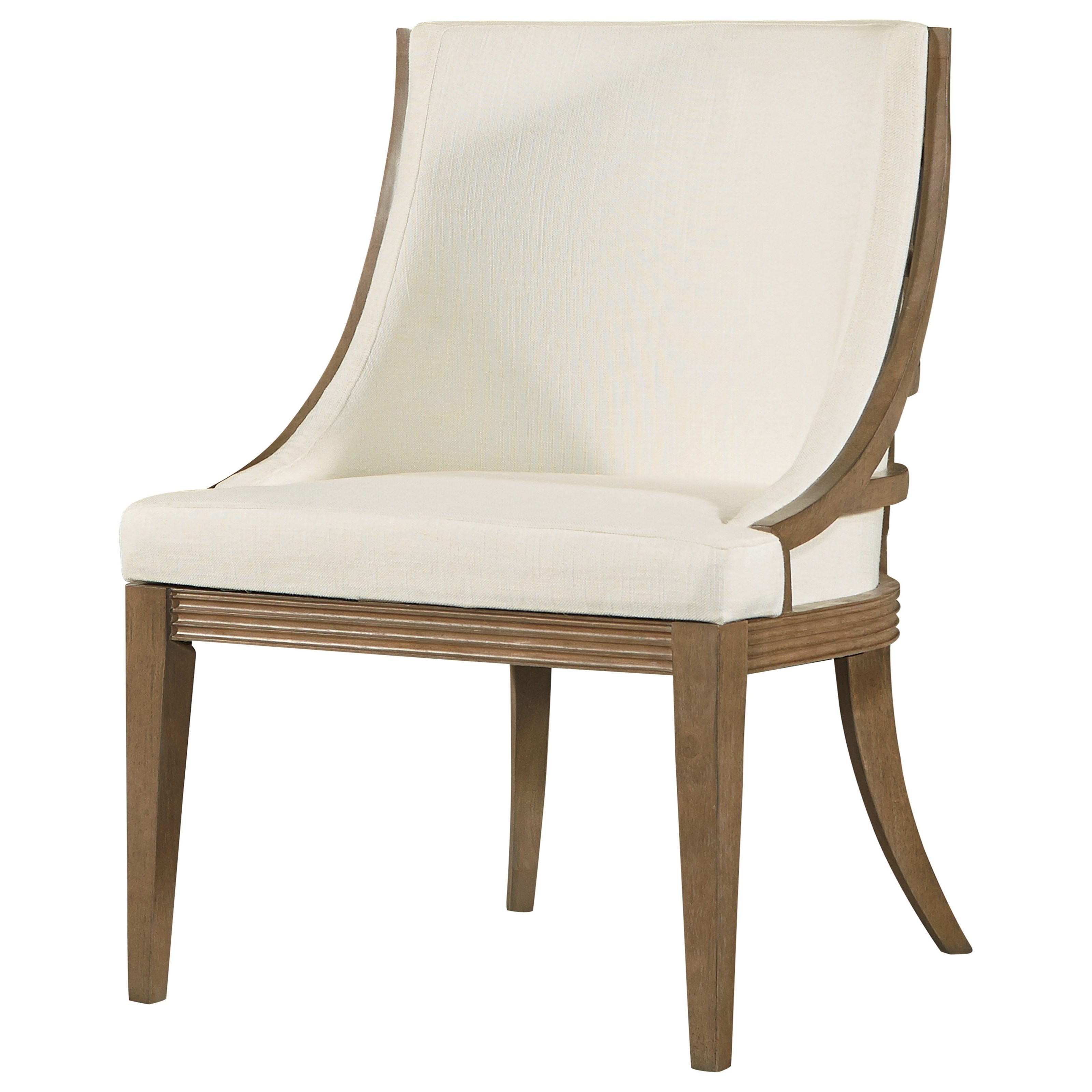 Universal synchronicity 628633 mid century modern for Upholstered dining chairs contemporary