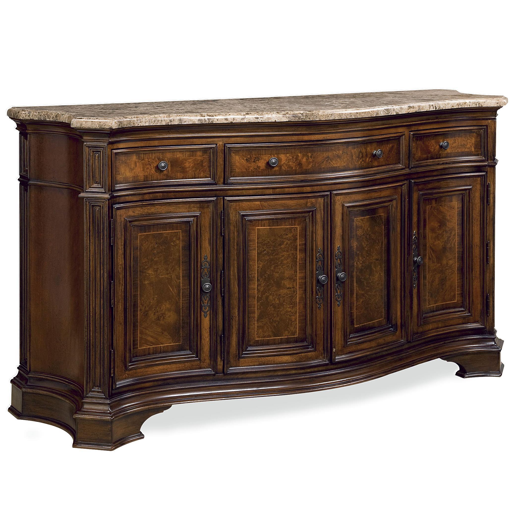 Universal villa cortina 409678 c storage credenza with for Hudsons furniture