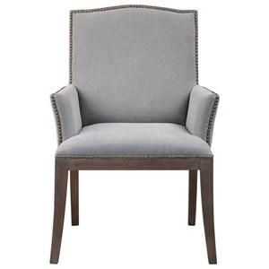 Uttermost Accent Furniture Kimoni Transitional Zebra Print
