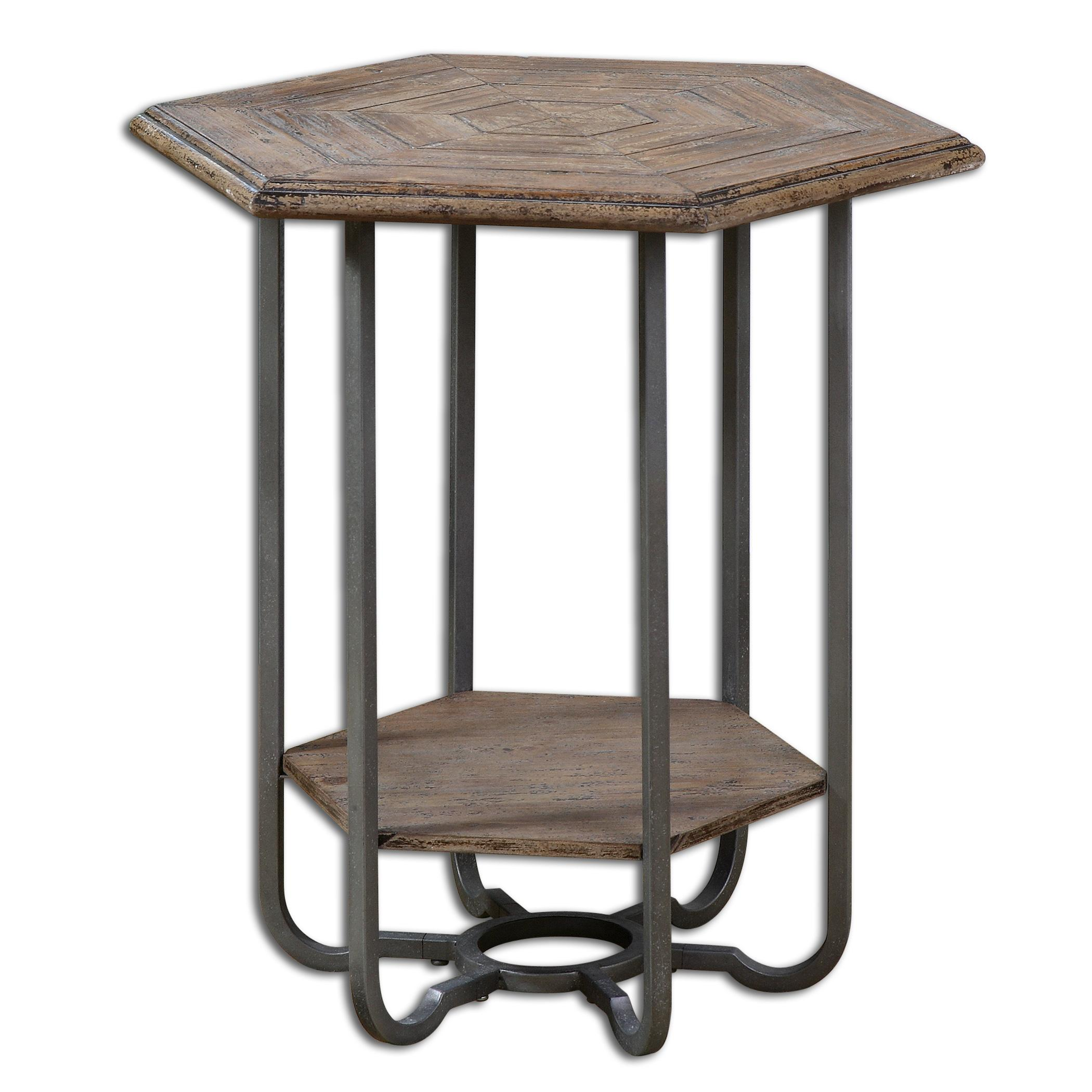Uttermost accent furniture 24378 mayson wooden accent for Bright colored side tables