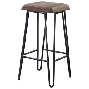 Uttermost Accent Furniture Stools Gamlin Gray Counter
