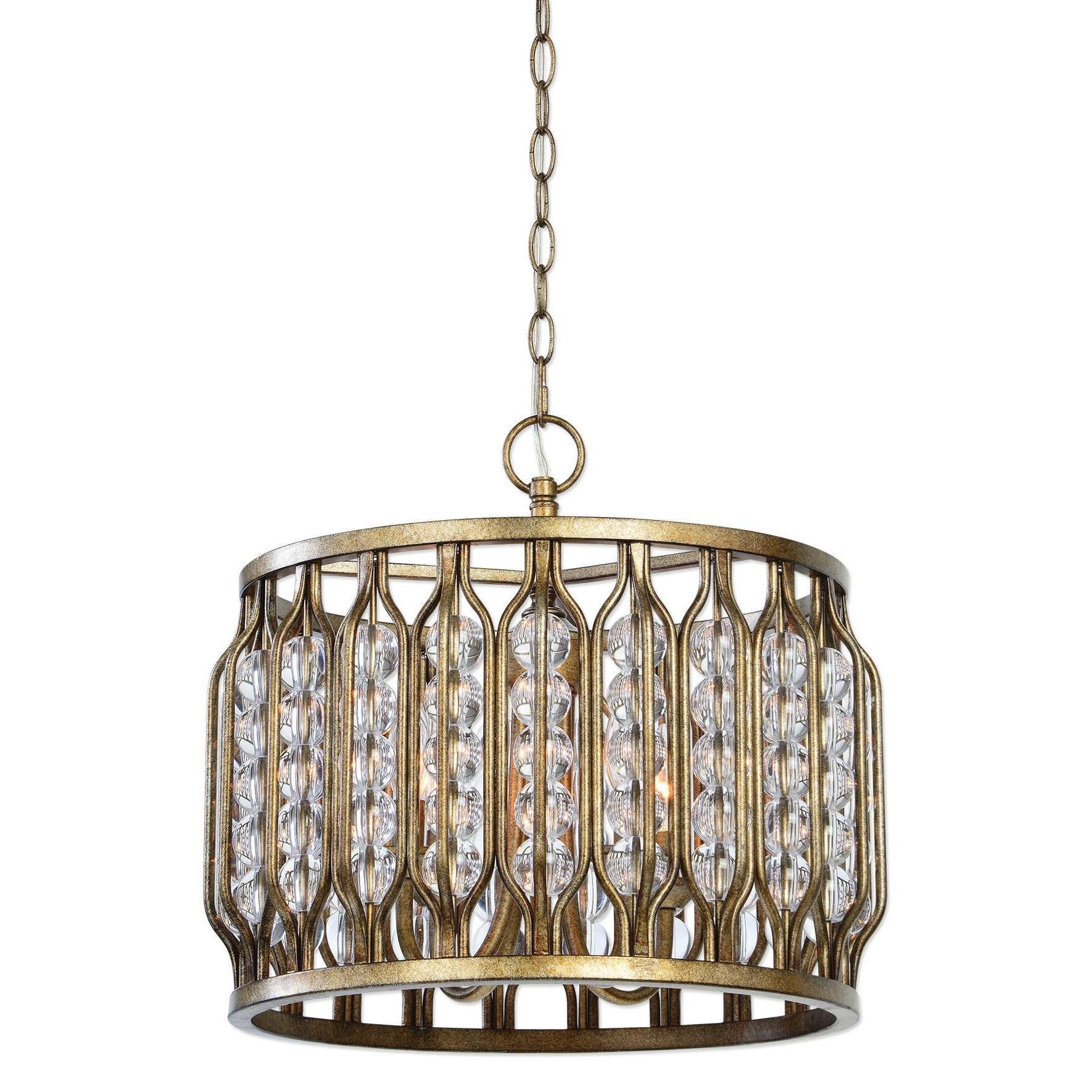 Uttermost lighting fixtures jensen 4 light swedish iron for Swedish light fixtures