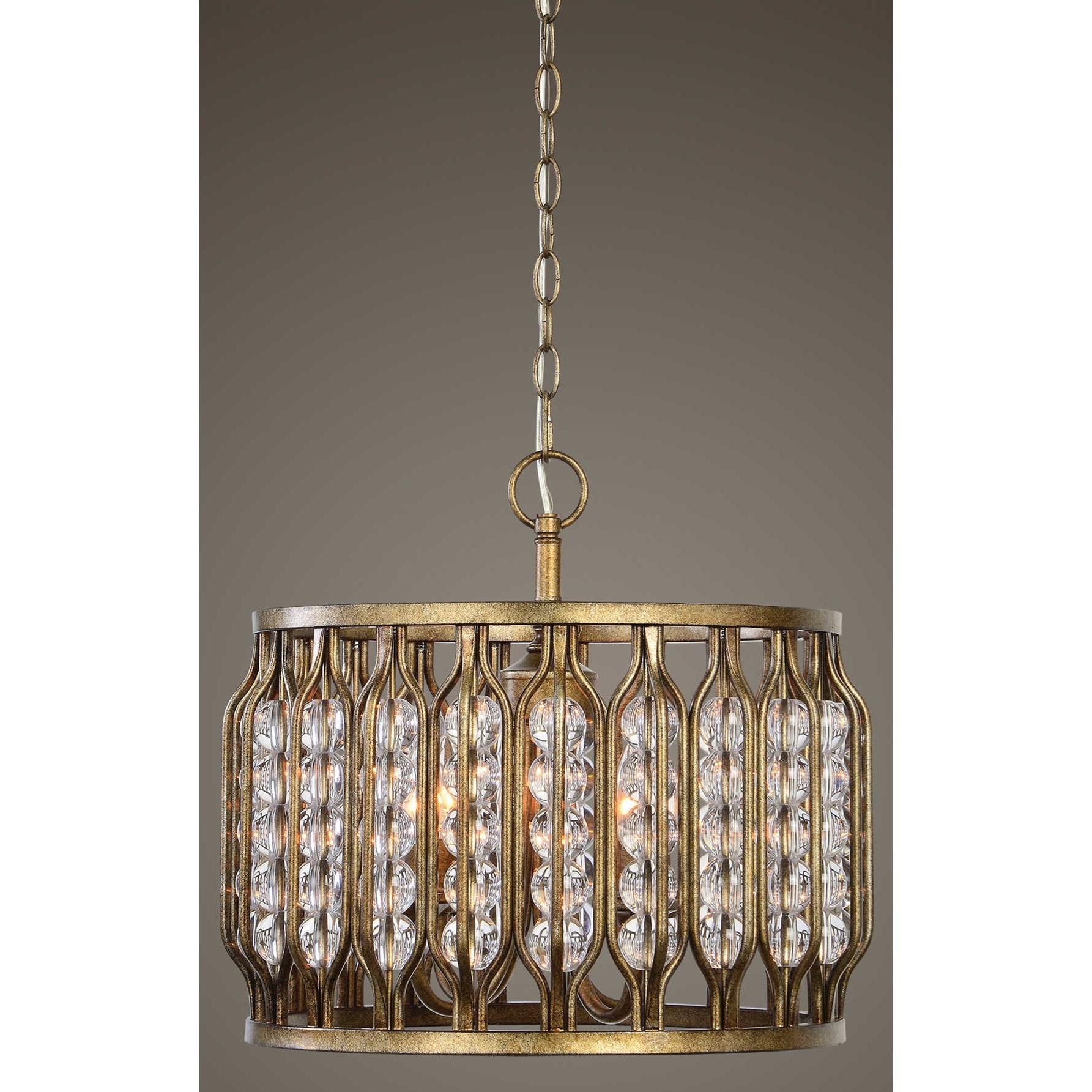 Uttermost lighting fixtures 22111 jensen 4 light swedish for Swedish light fixtures