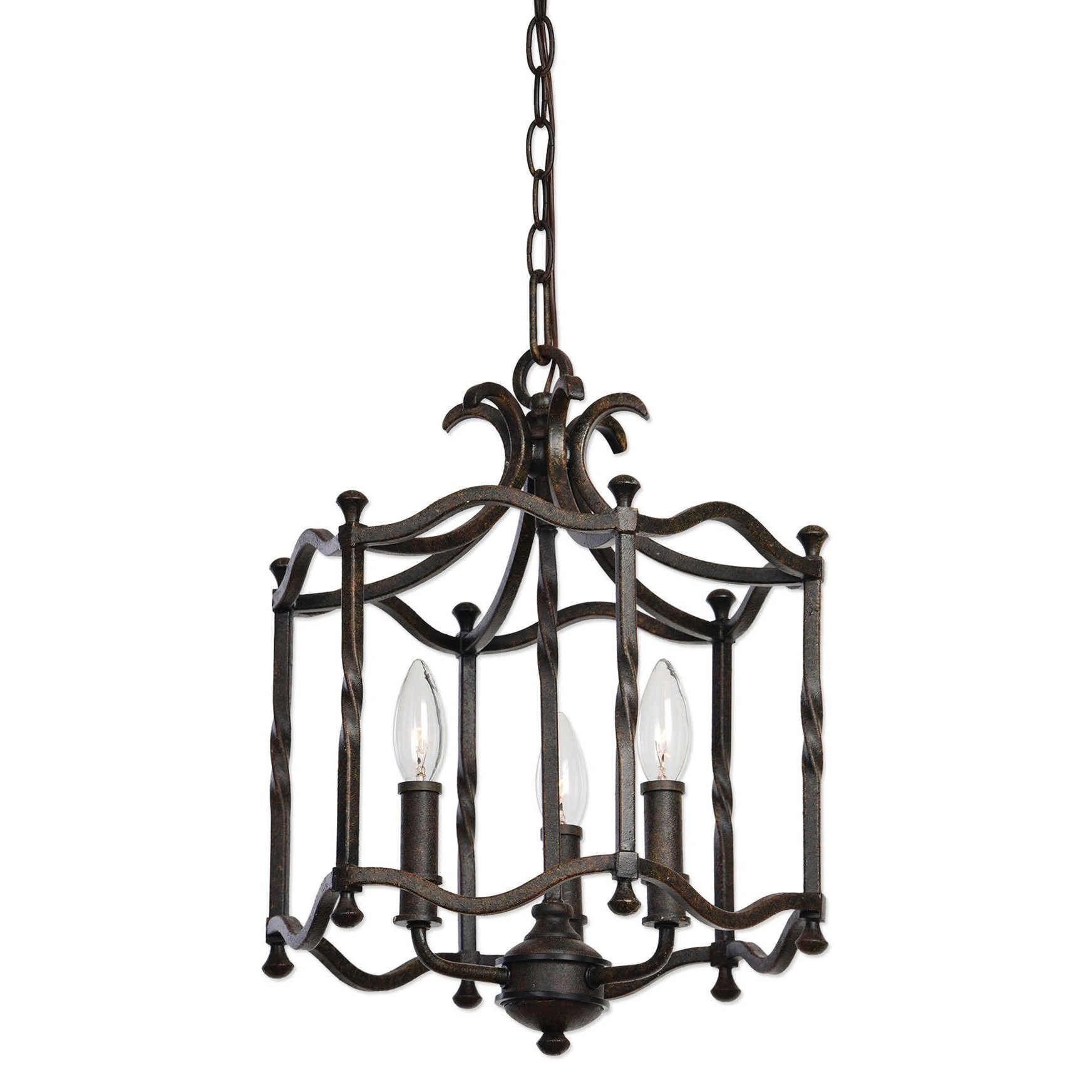uttermost lighting fixtures 22112 candela old world 3