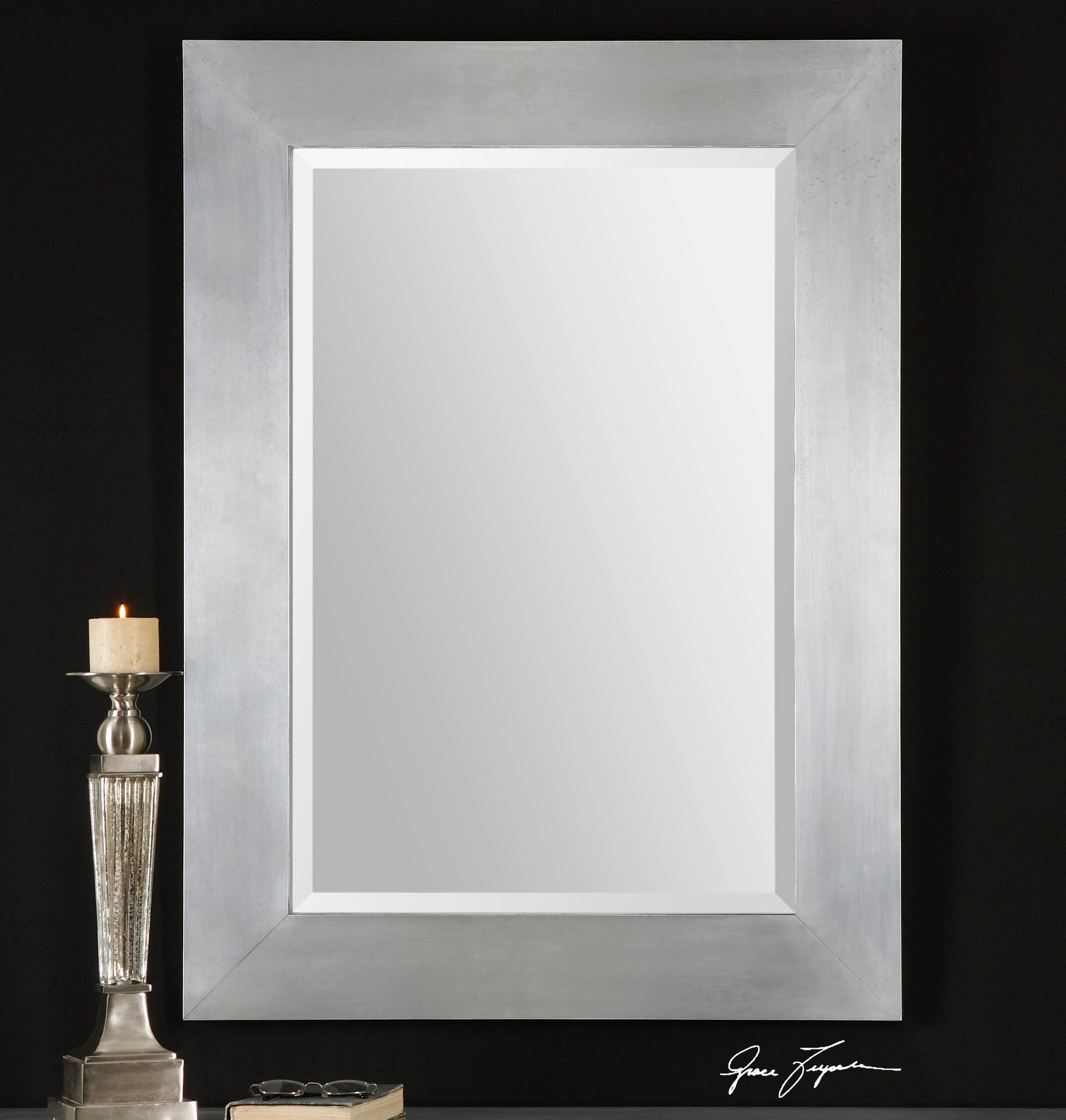 Uttermost mirrors 07060 martel contemporary mirror del for Contemporary wall mirrors