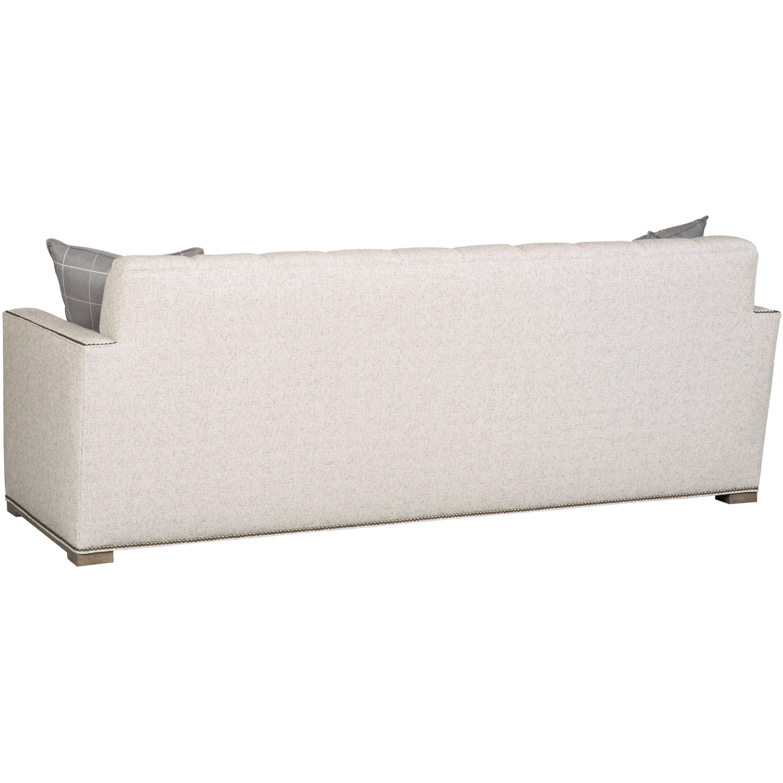 vanguard furniture michael weiss garvey channel back sofa belfort furniture sofas. Black Bedroom Furniture Sets. Home Design Ideas