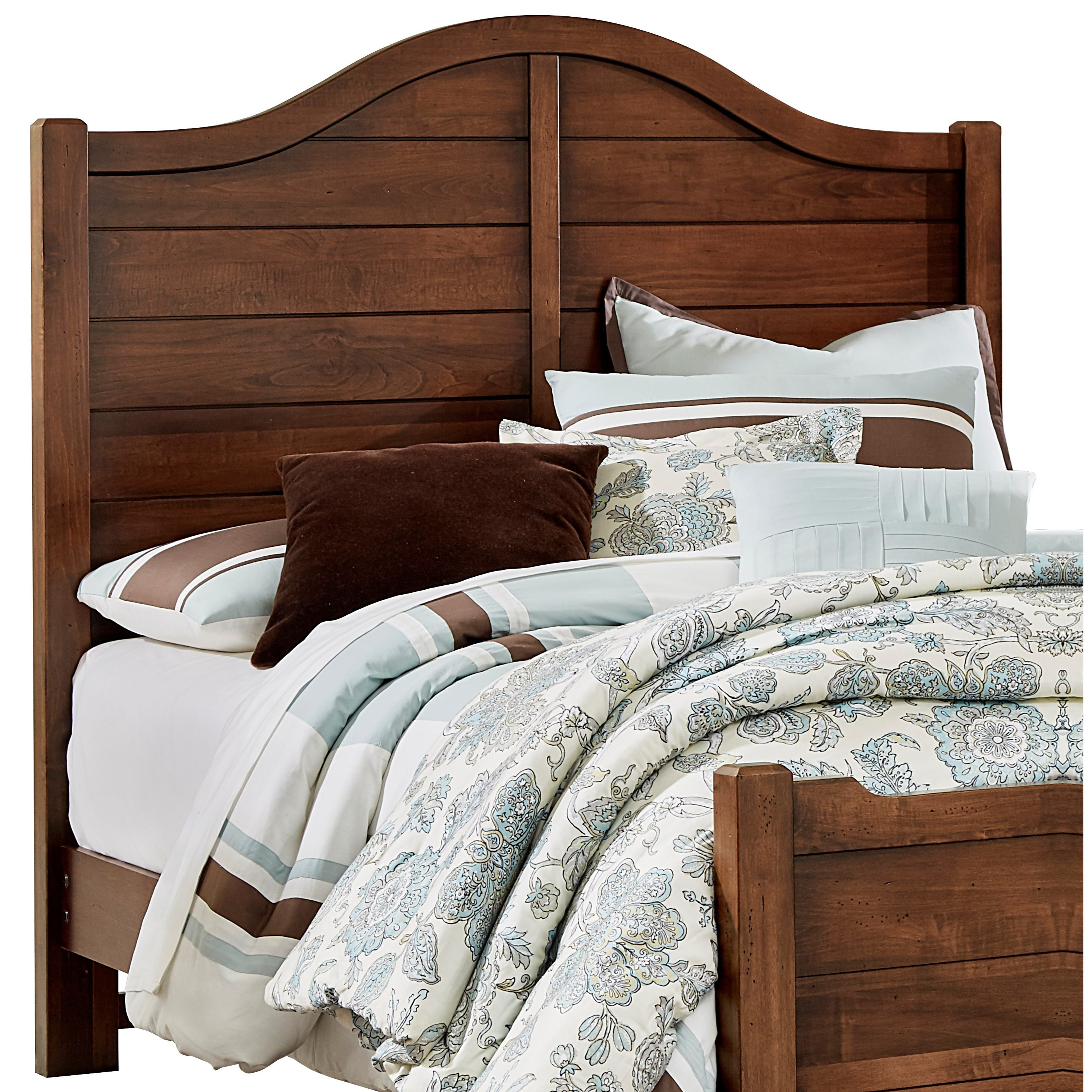 vaughan bassett american maple solid wood queen shiplap. Black Bedroom Furniture Sets. Home Design Ideas