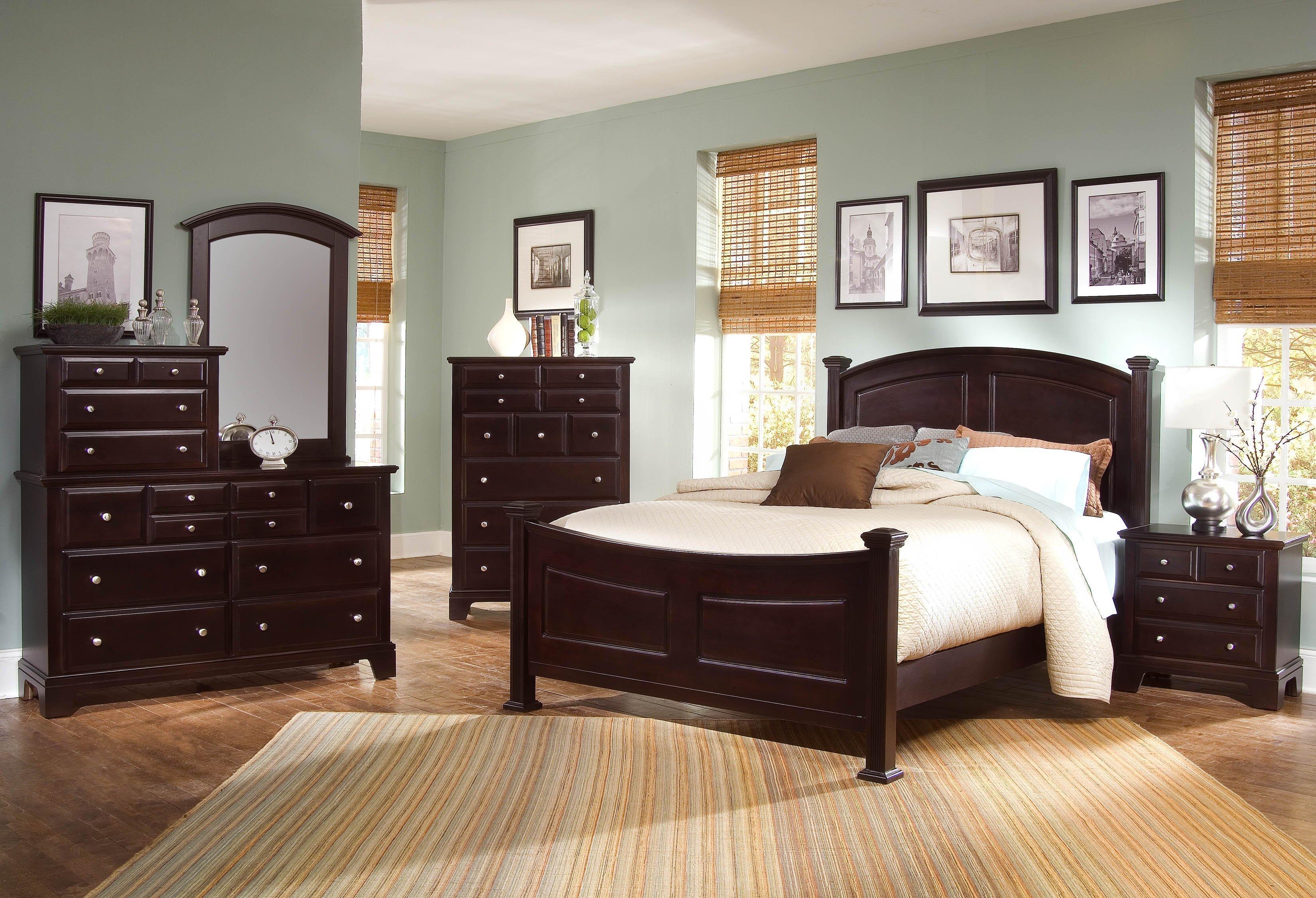 Vaughan Bassett Hamilton Franklin King Bedroom Group Wayside Furniture Be