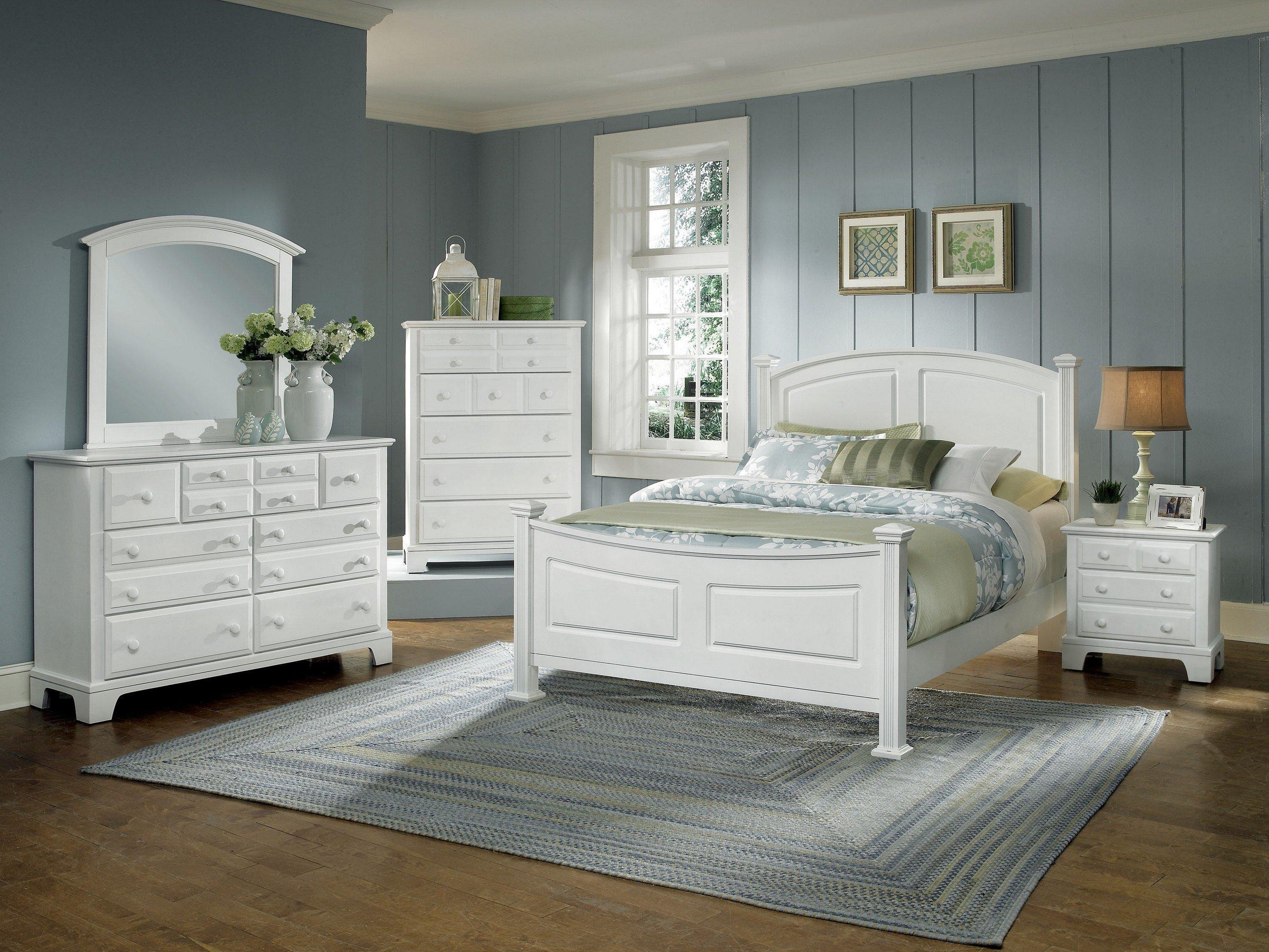 Vaughan Bassett Hamilton Franklin Queen Panel Bed Belfort Furniture Panel