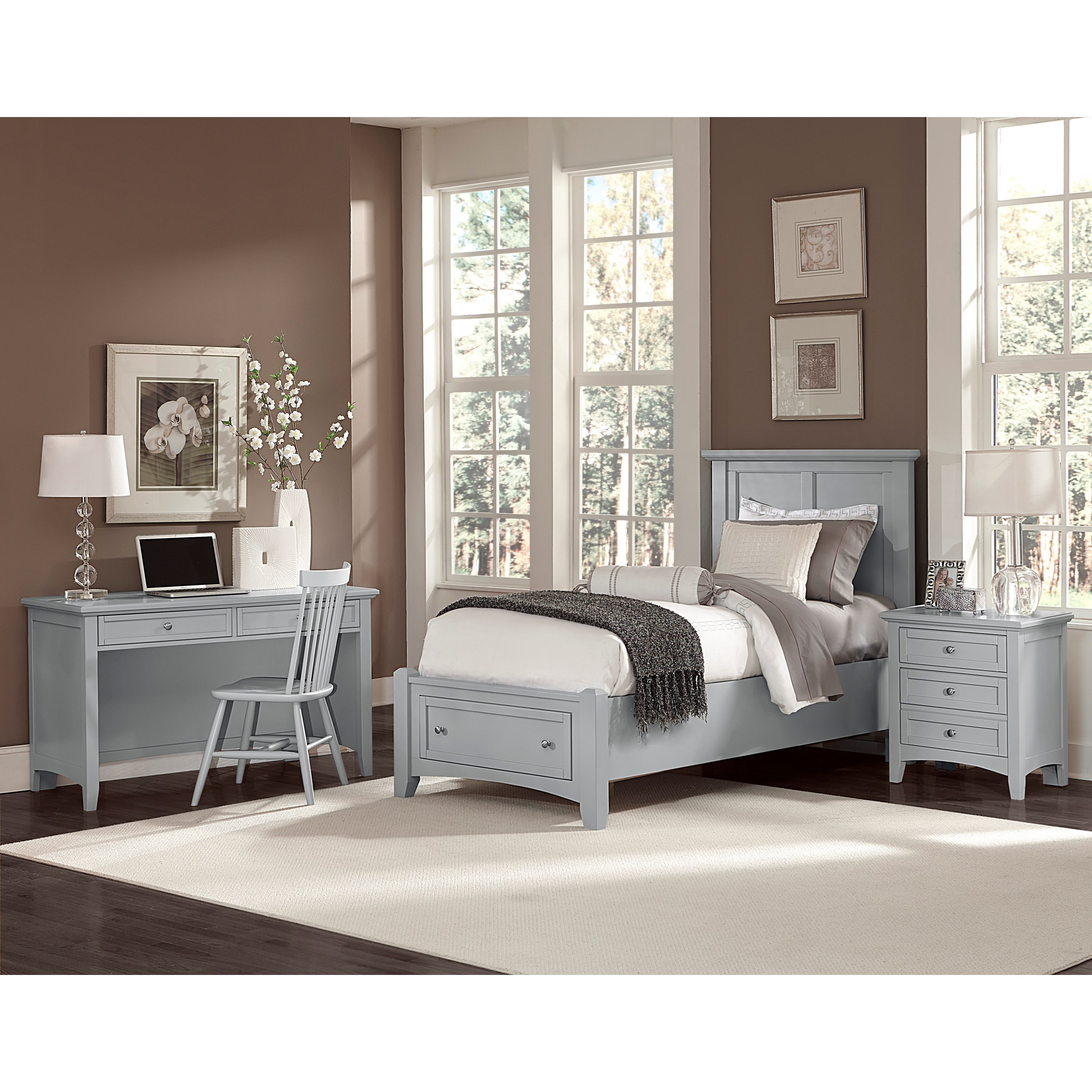 vaughan bassett bonanza twin bedroom group jacksonville furniture mart bedroom groups. Black Bedroom Furniture Sets. Home Design Ideas