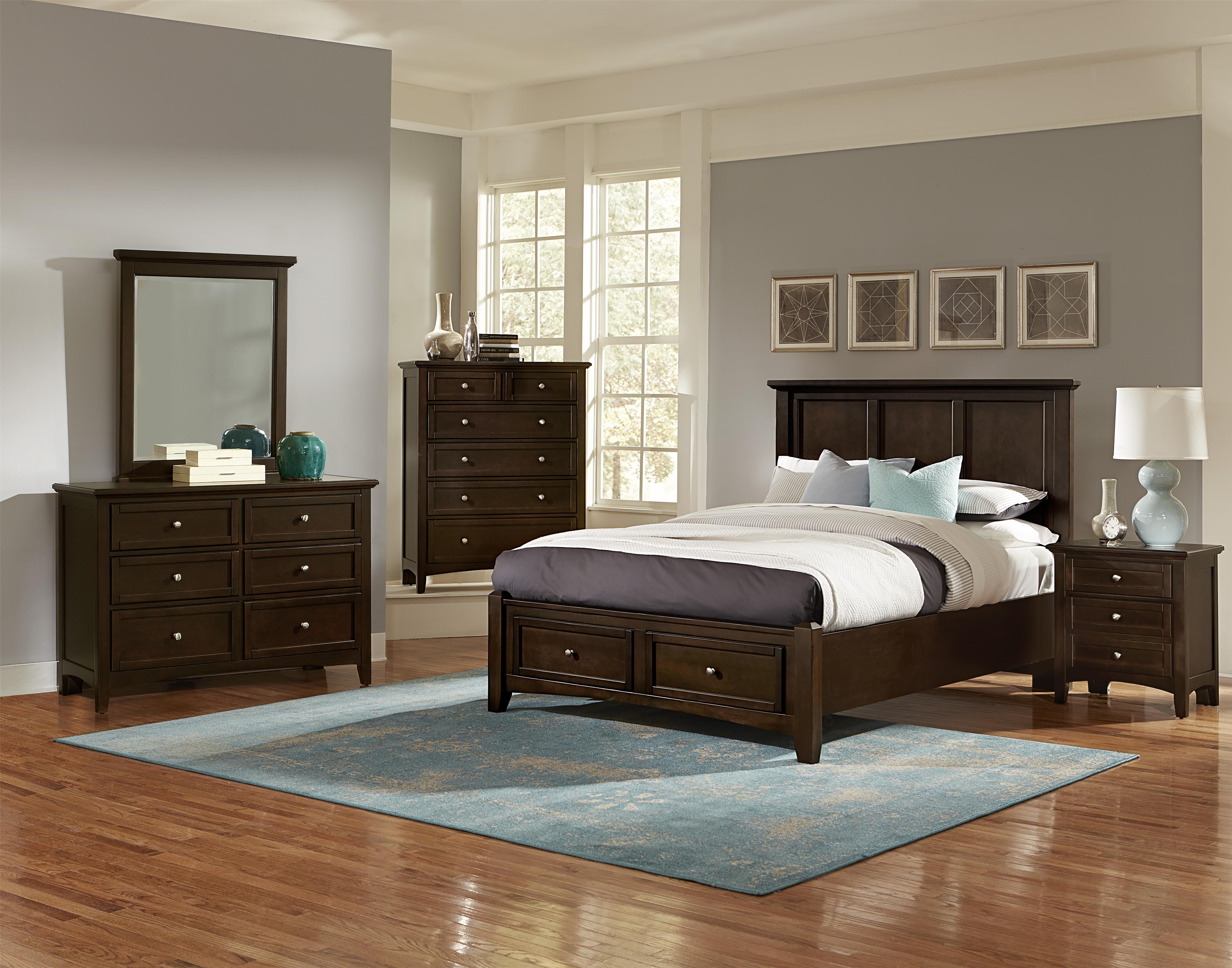 vaughan bassett bonanza queen bedroom group belfort furniture bedroom groups. Black Bedroom Furniture Sets. Home Design Ideas